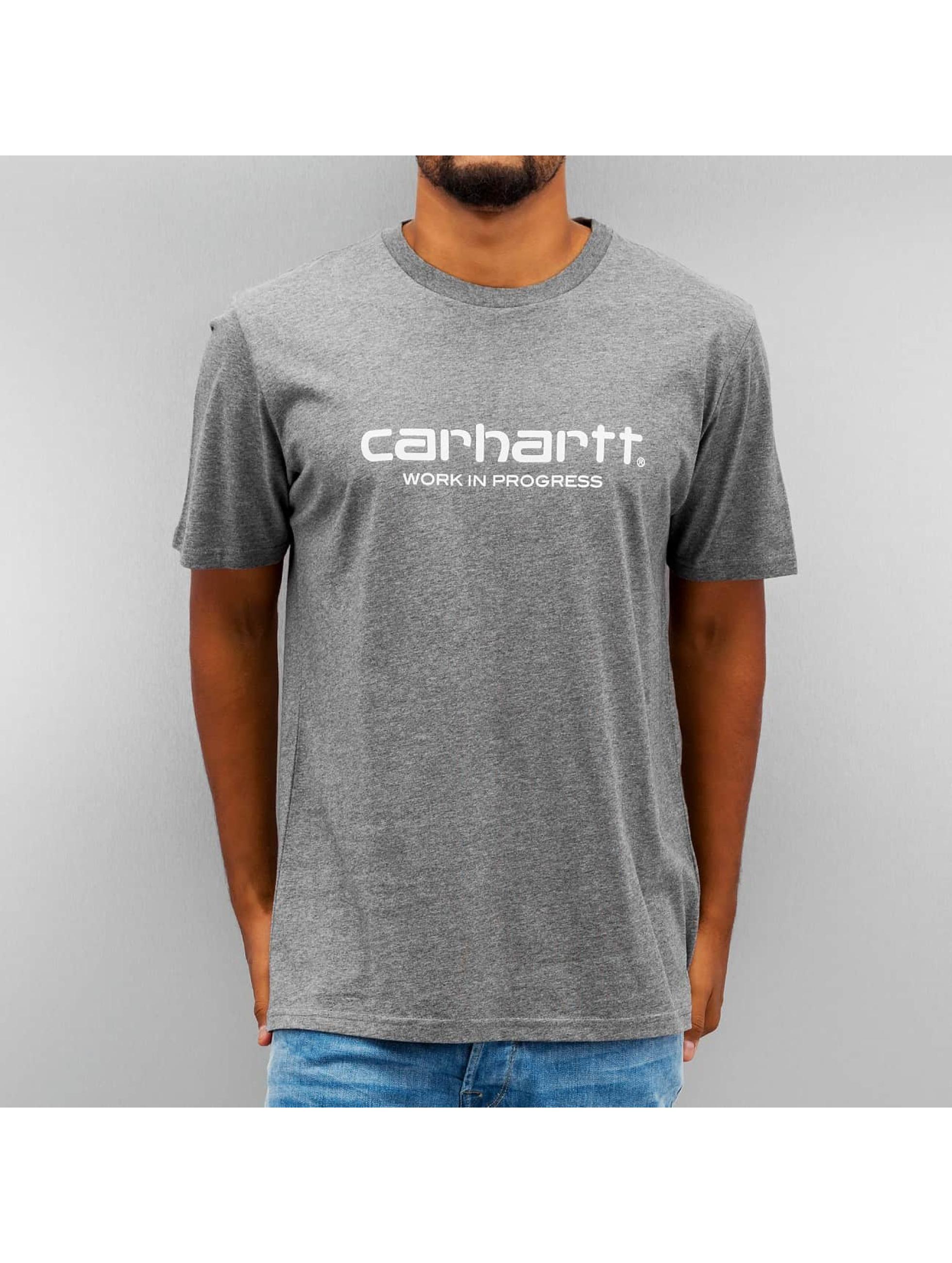 Carhartt WIP T-paidat S/S Wip Script harmaa