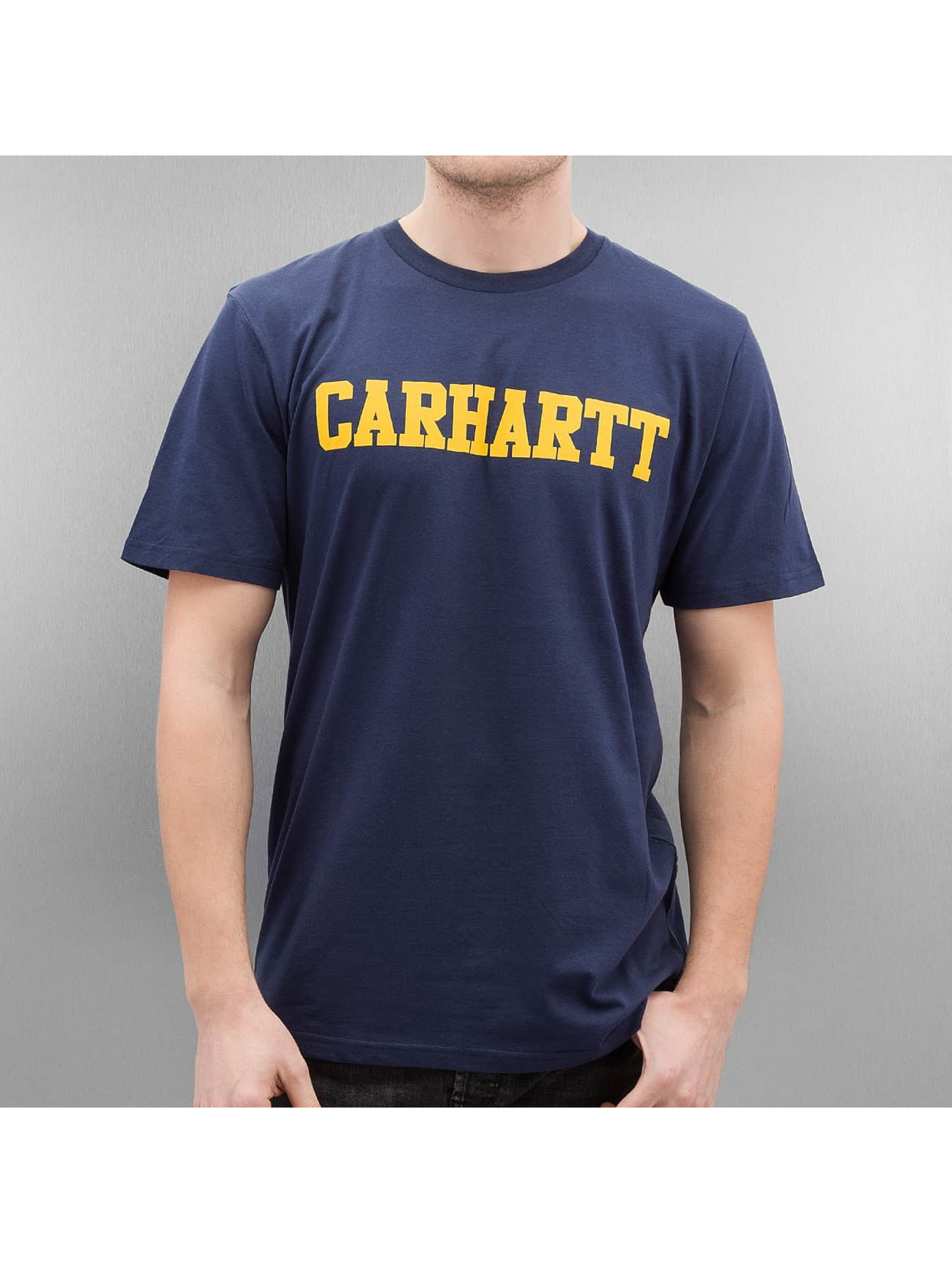 Carhartt WIP T-paidat College sininen