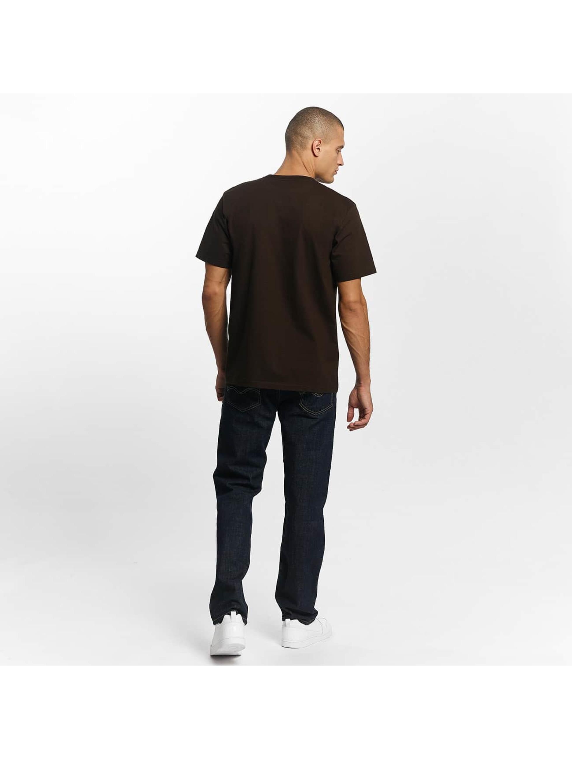 Carhartt WIP T-Shirt Chase braun