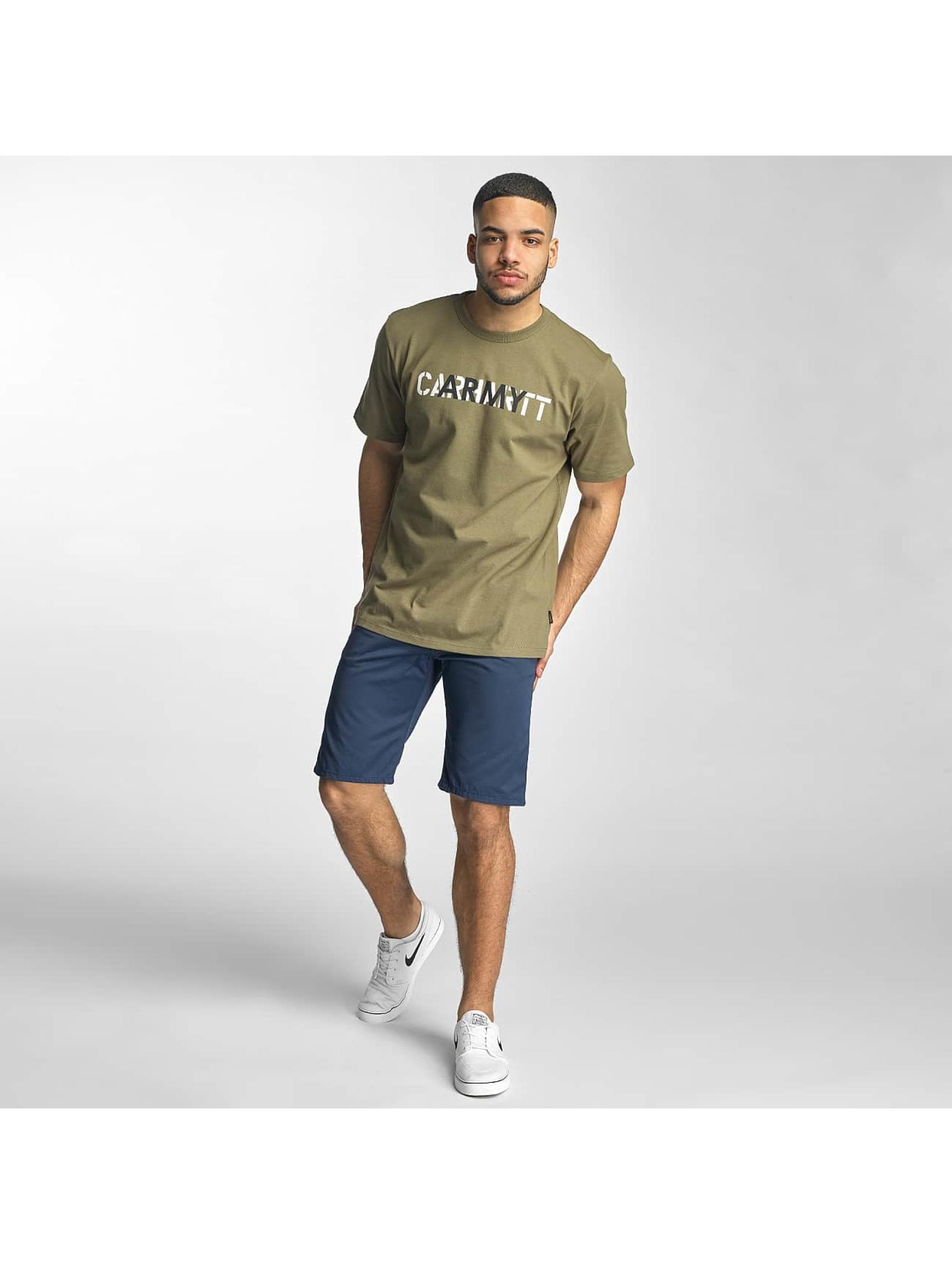 Carhartt WIP T-Shirt S/S CA Training green