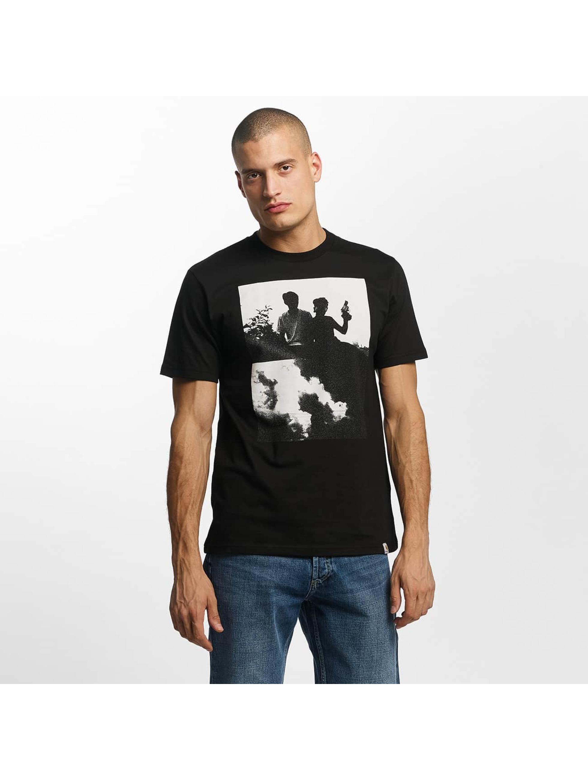 Carhartt WIP T-Shirty Pistols czarny