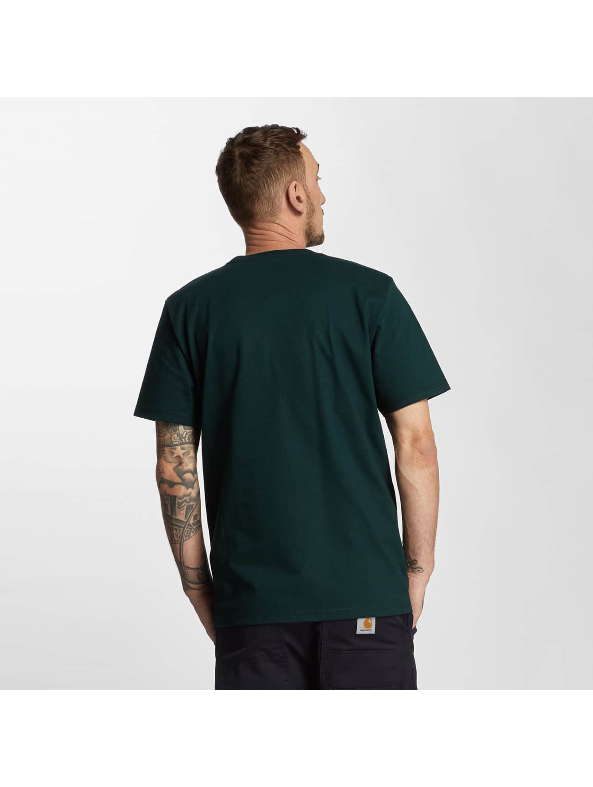 Carhartt WIP T-Shirty College zielony