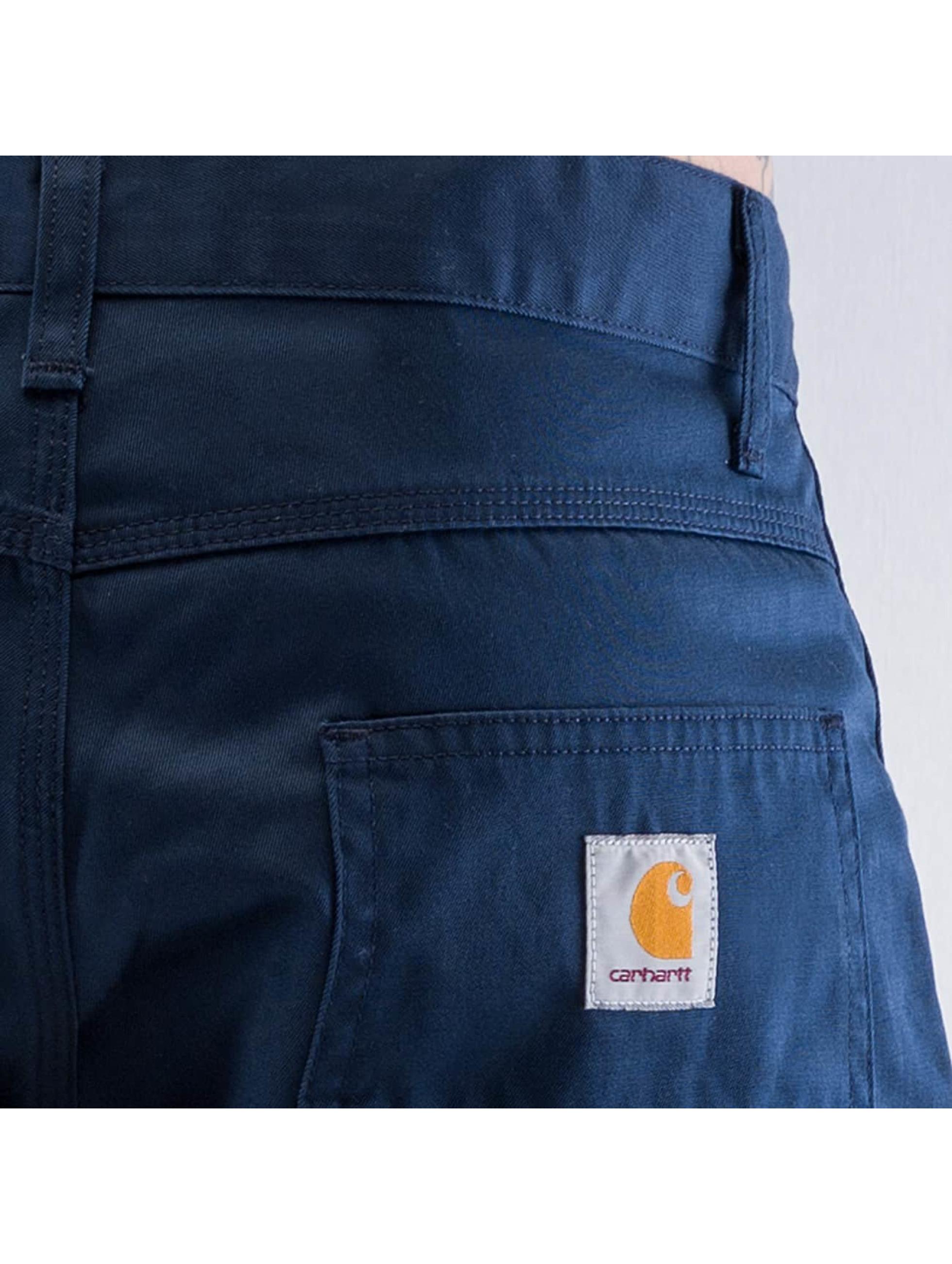 Carhartt WIP Väljät farkut Cortez Slim Fit Skill sininen
