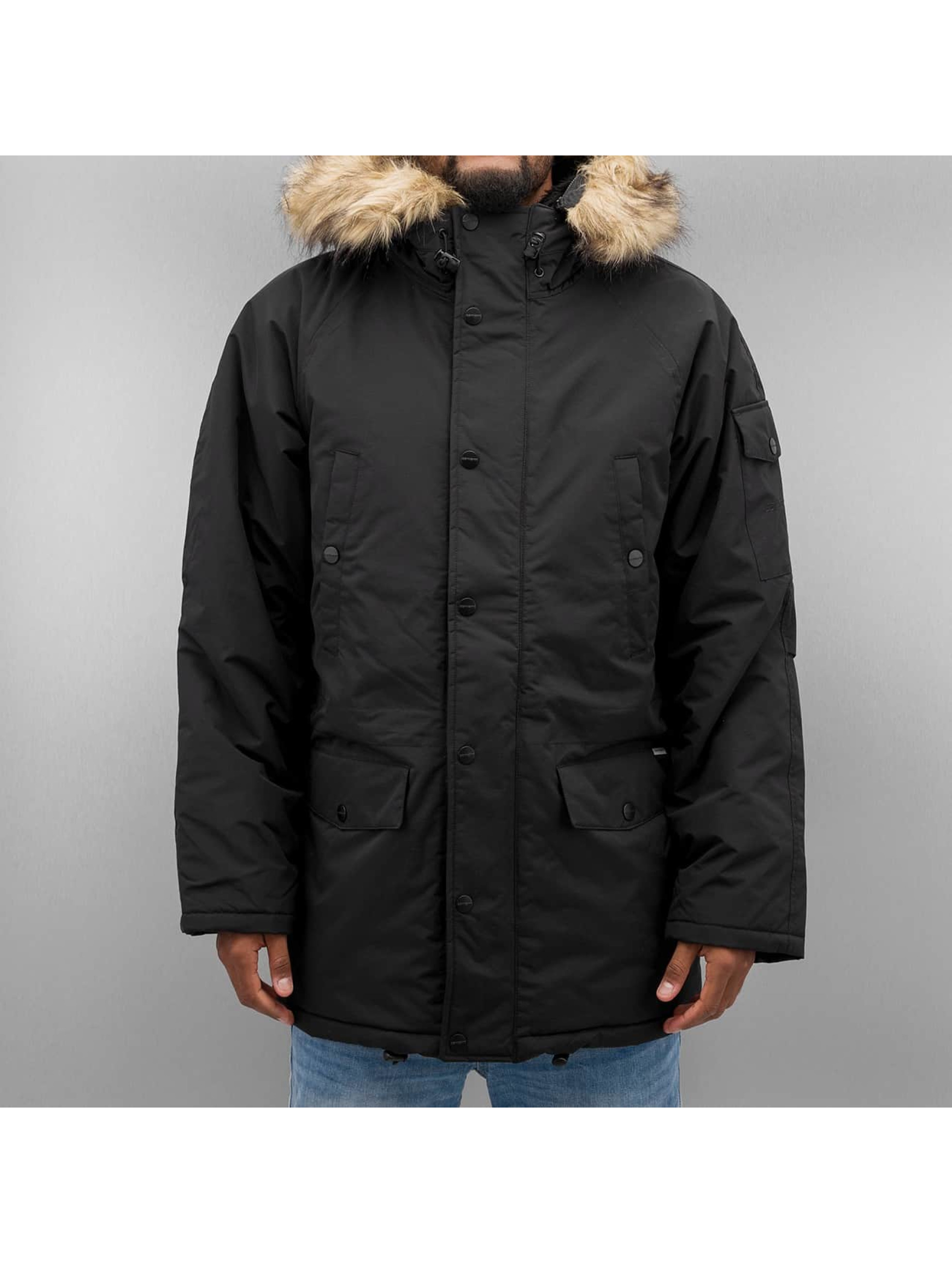 Carhartt WIP Winterjacke Anchorage schwarz