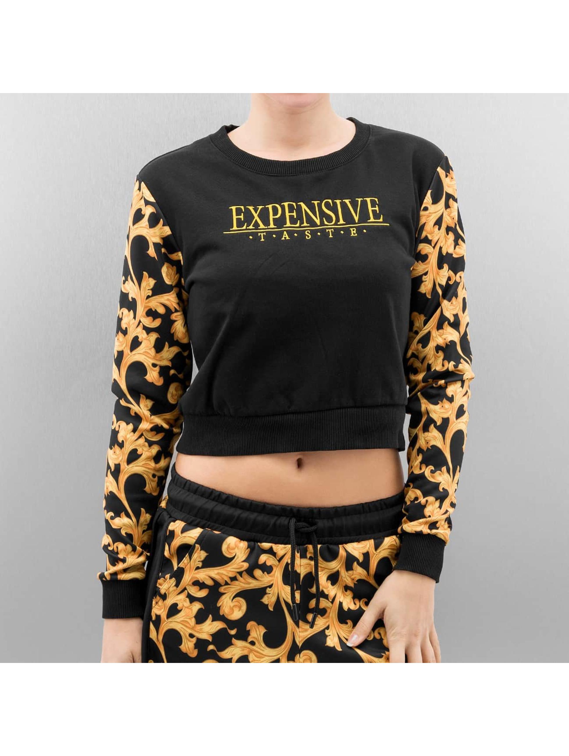 Cayler & Sons Pullover SL Expensive Taste Crop black