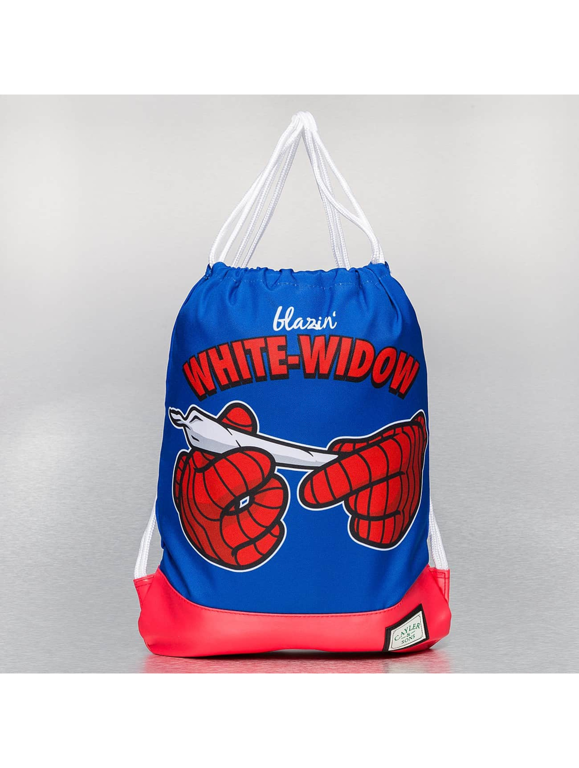 Cayler & Sons Sac à cordons White Widow bleu