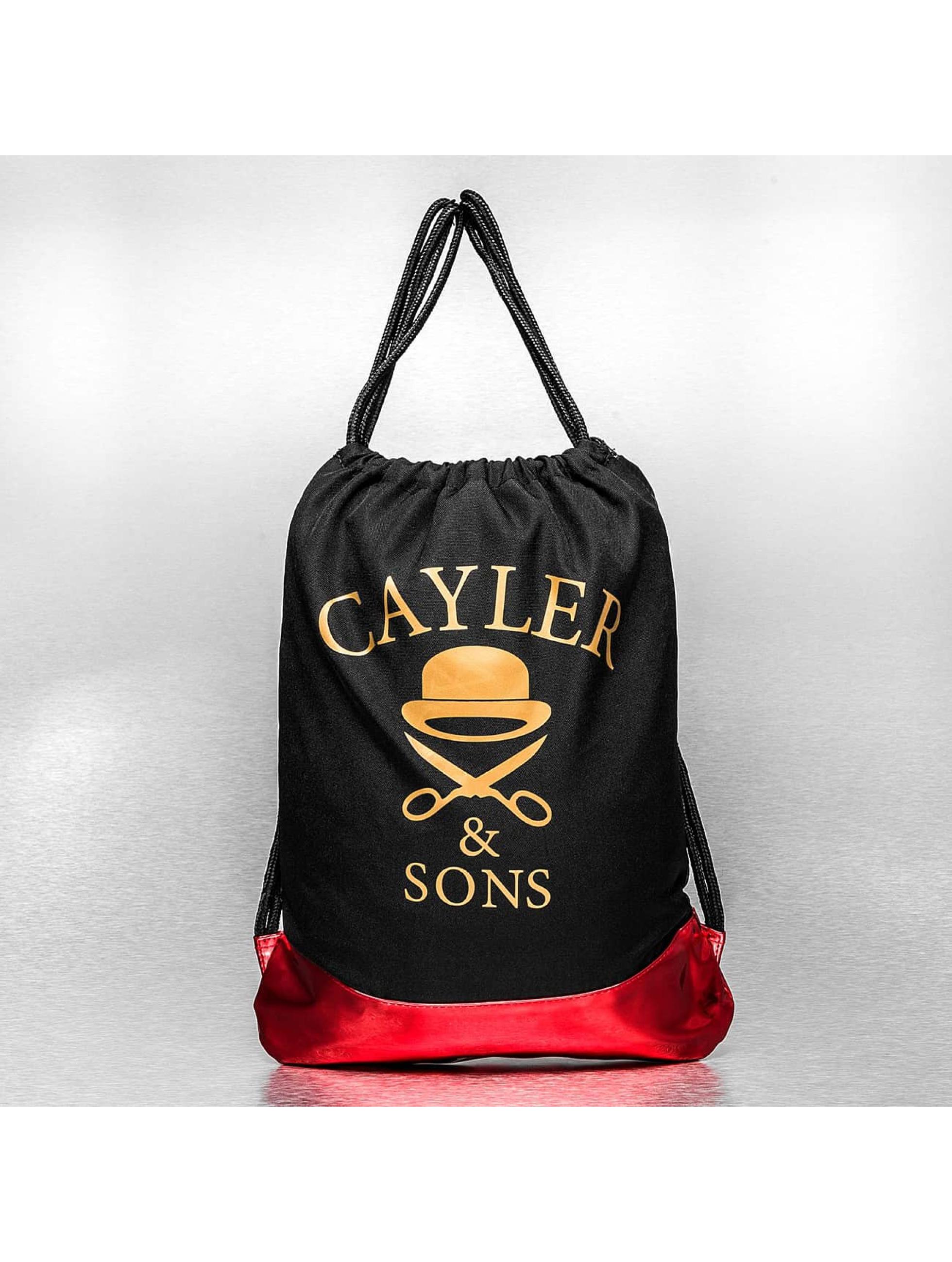 Cayler & Sons Sac à cordons Ironic A Dam noir