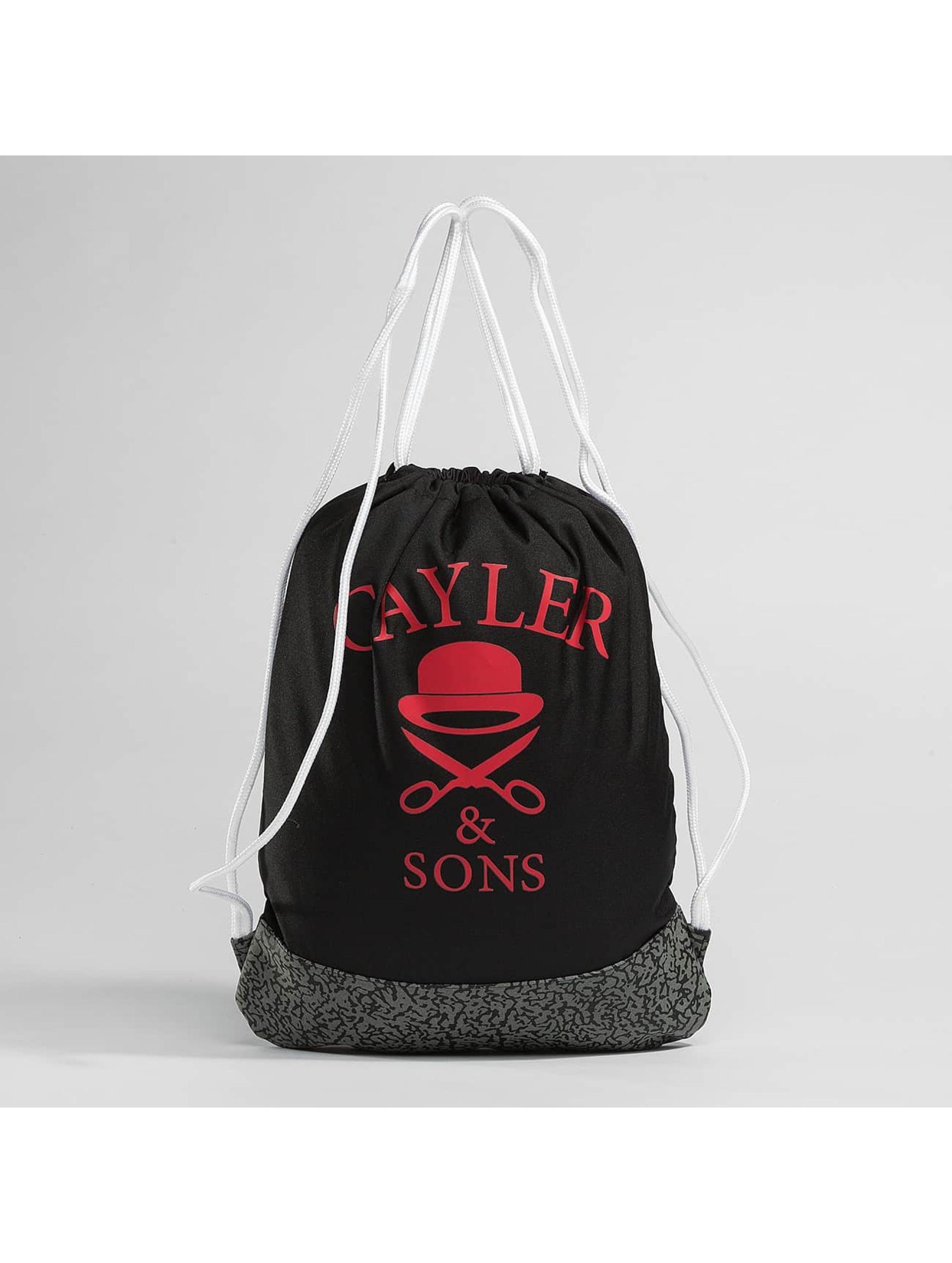 Cayler & Sons Sac à cordons WL Siggi Sports noir