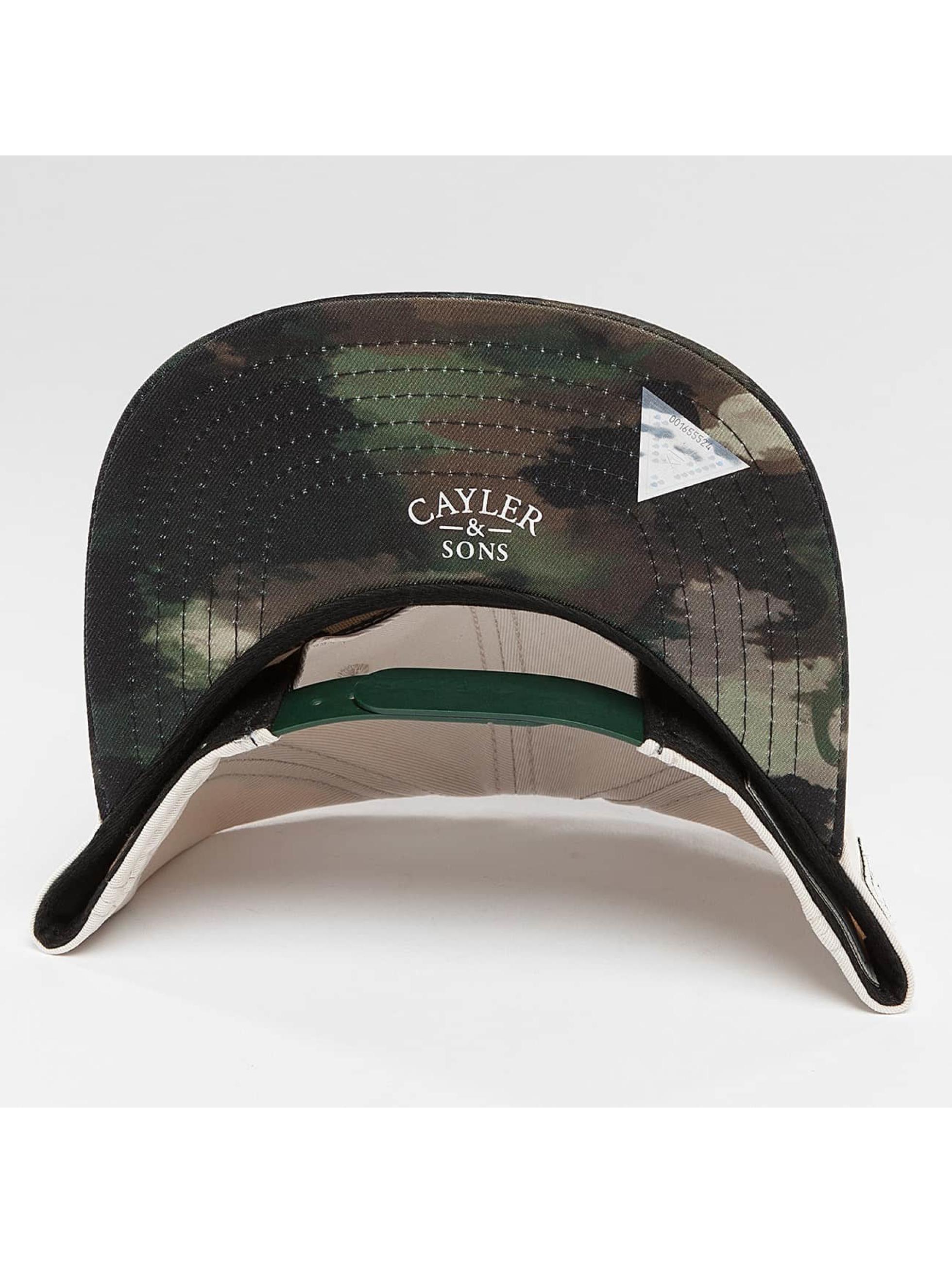 Cayler & Sons Snapback Cap Defend BK beige