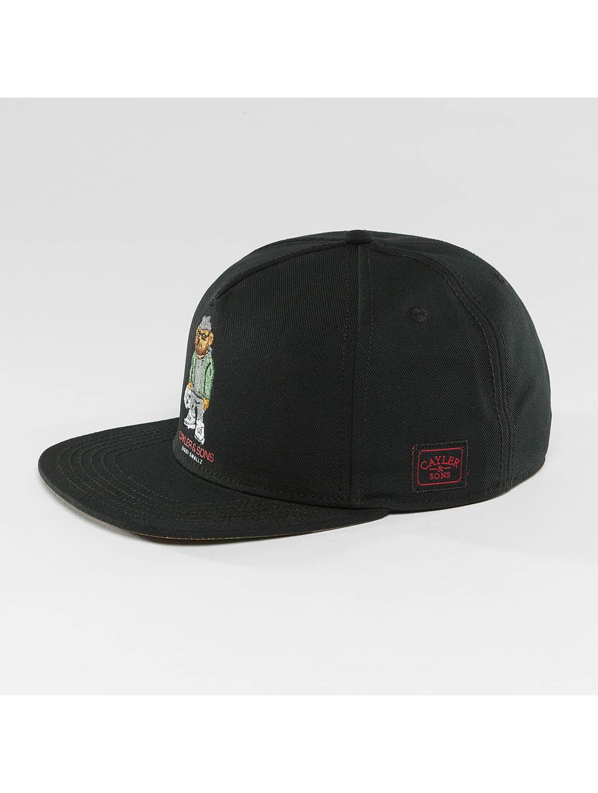 Cayler & Sons Snapback Cap WL Siggi Sports black
