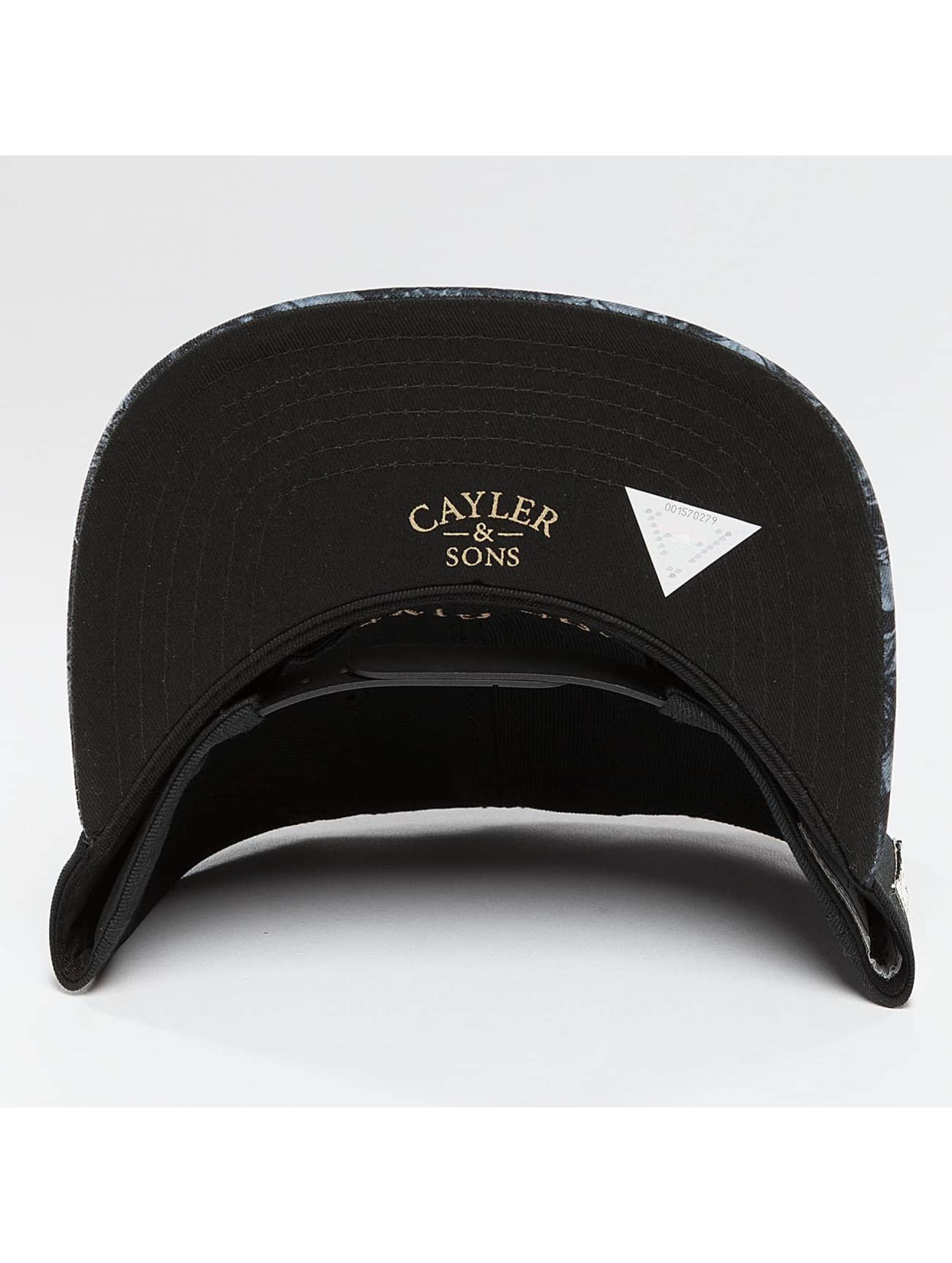 Cayler & Sons Snapback Cap God Given schwarz
