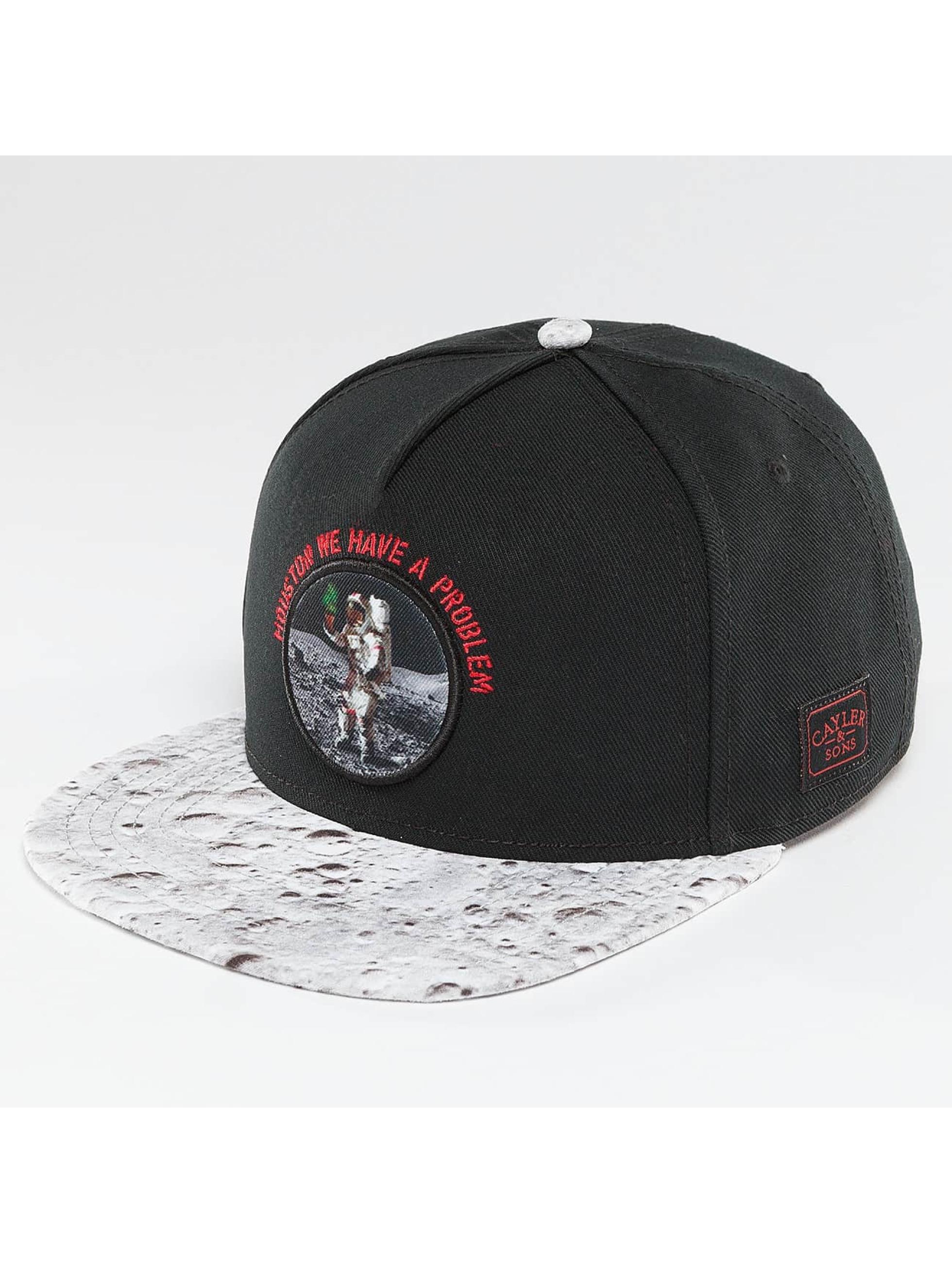 Cayler & Sons Snapback Cap Moondust Kush schwarz
