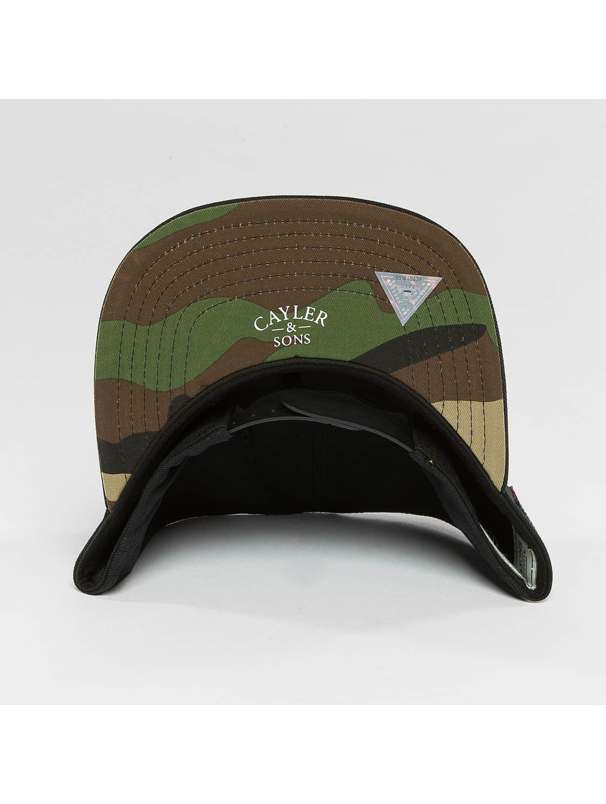 Cayler & Sons Snapback Cap WL Siggi Sports schwarz