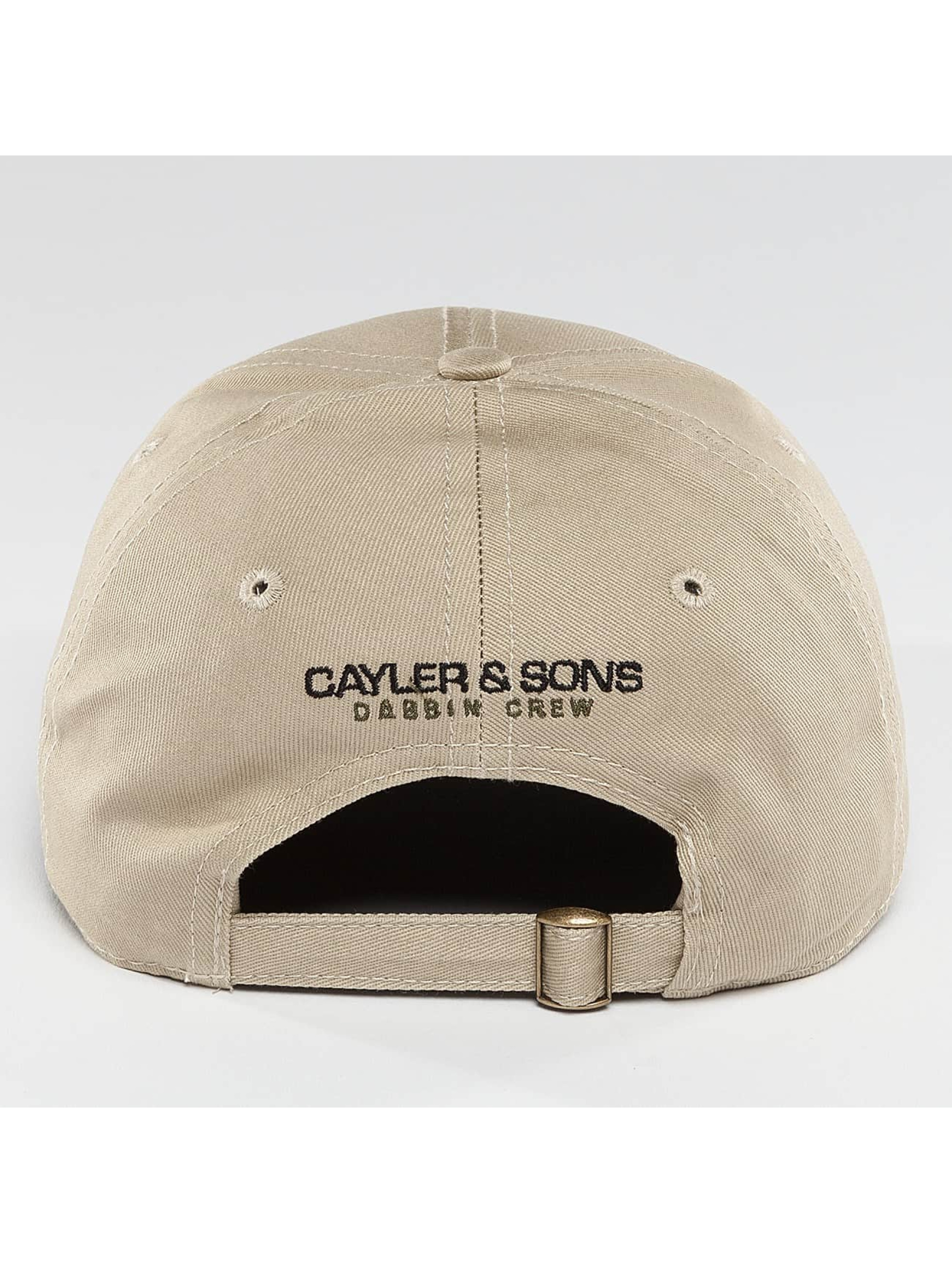 Cayler & Sons Snapback Caps Dabbin Crew bezowy