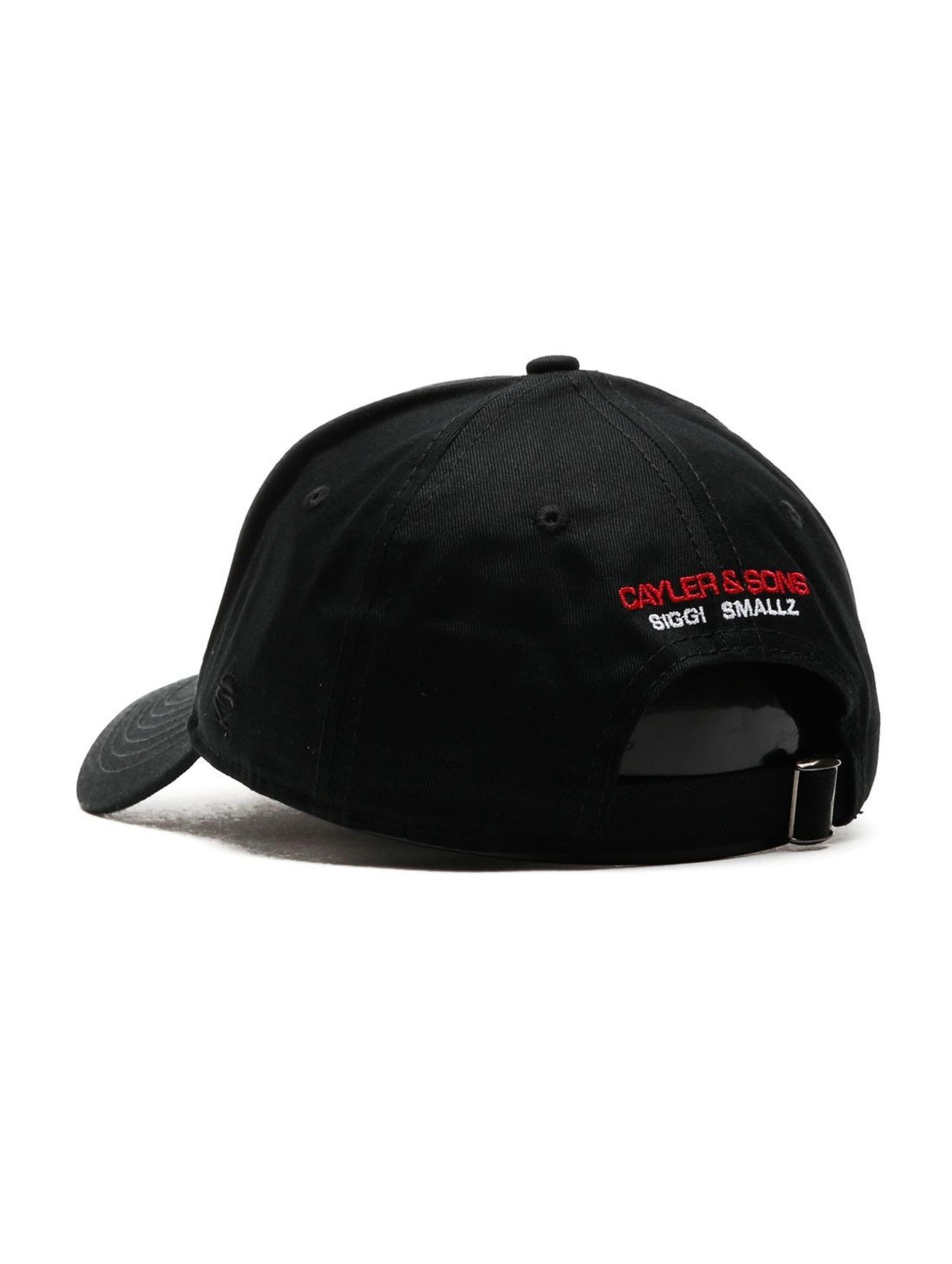 Cayler & Sons Snapback Caps WL Siggi Sports Curved musta