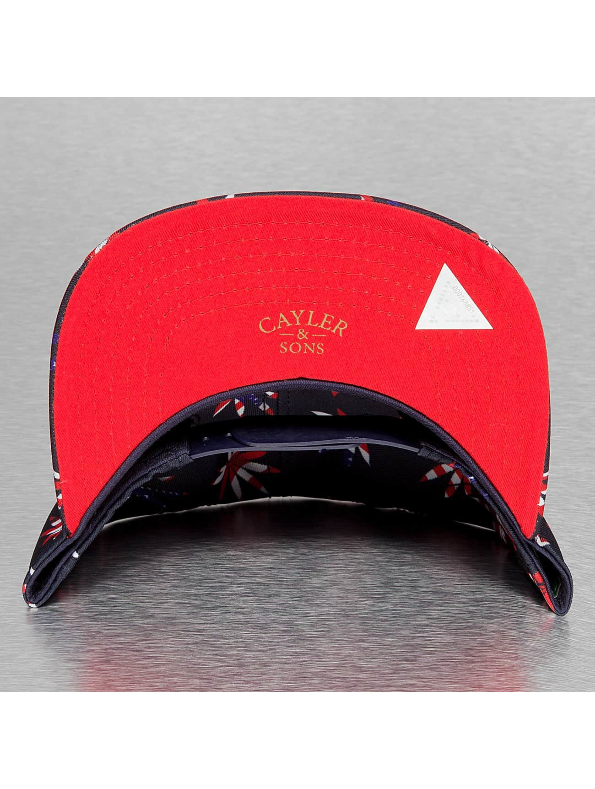 Cayler & Sons Snapback Caps Green Label Best Budz sininen
