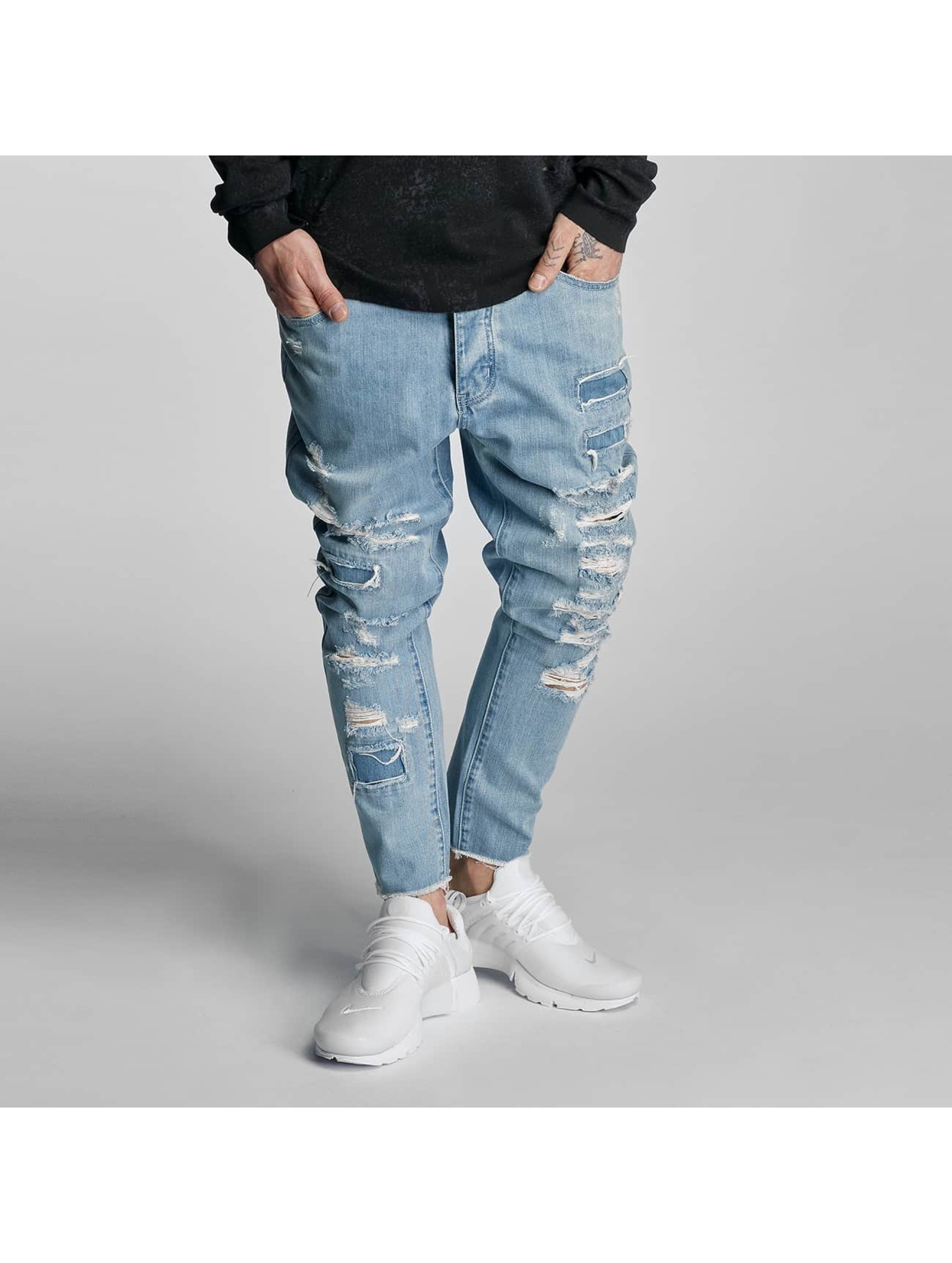 Cayler & Sons Straight Fit Jeans Raw in blau