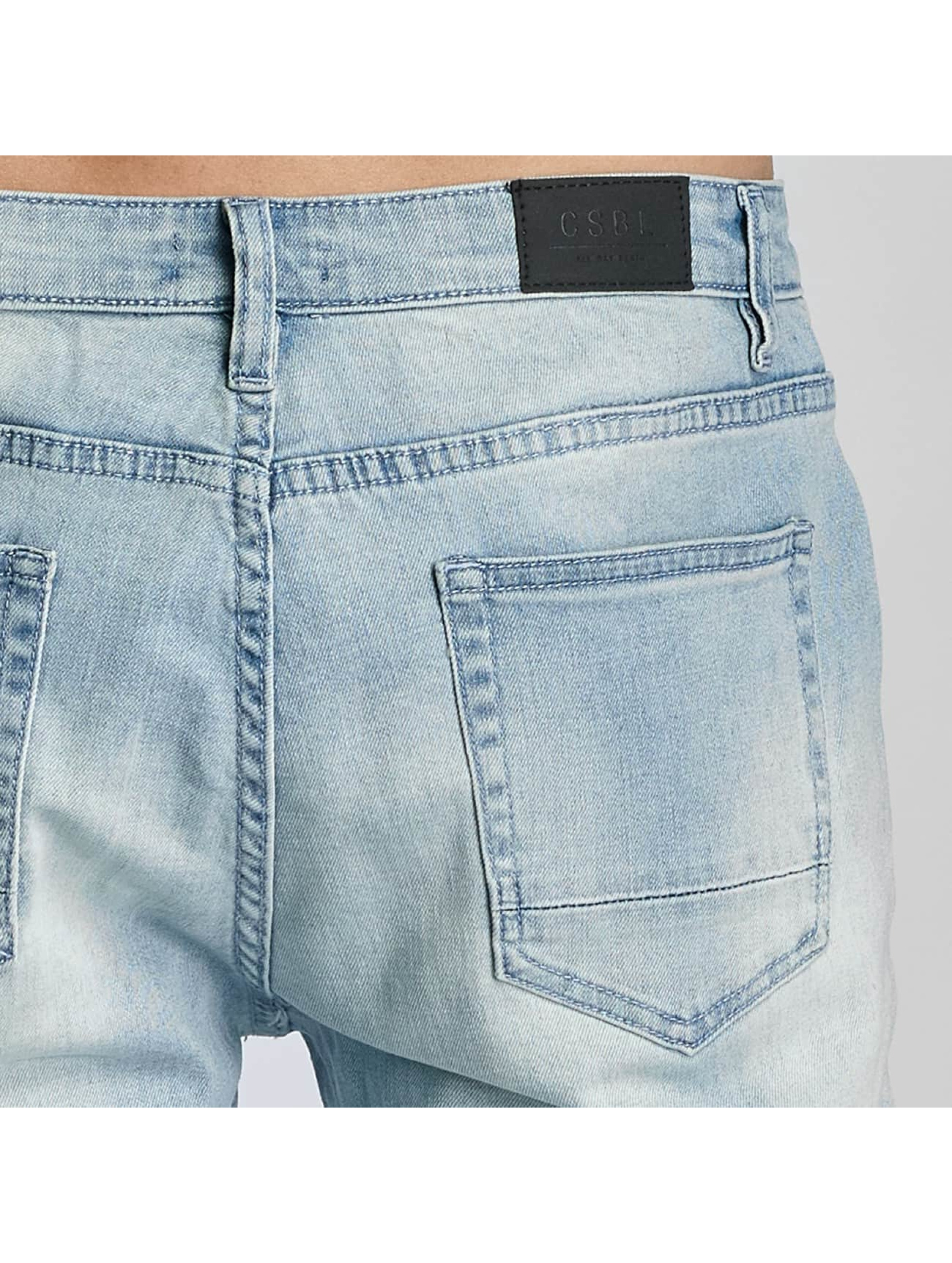 Cayler & Sons Straight Fit Jeans Pad blau