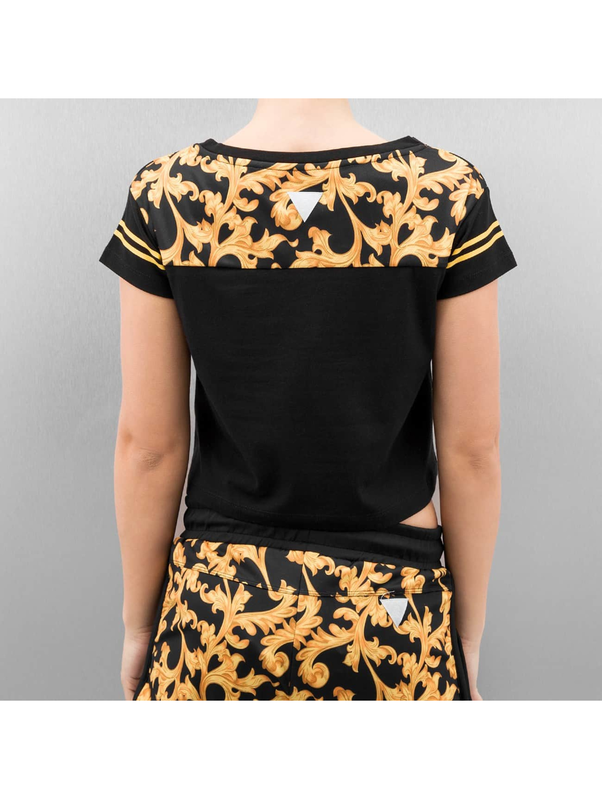 Cayler & Sons t-shirt SL Expensive Taste Crop zwart