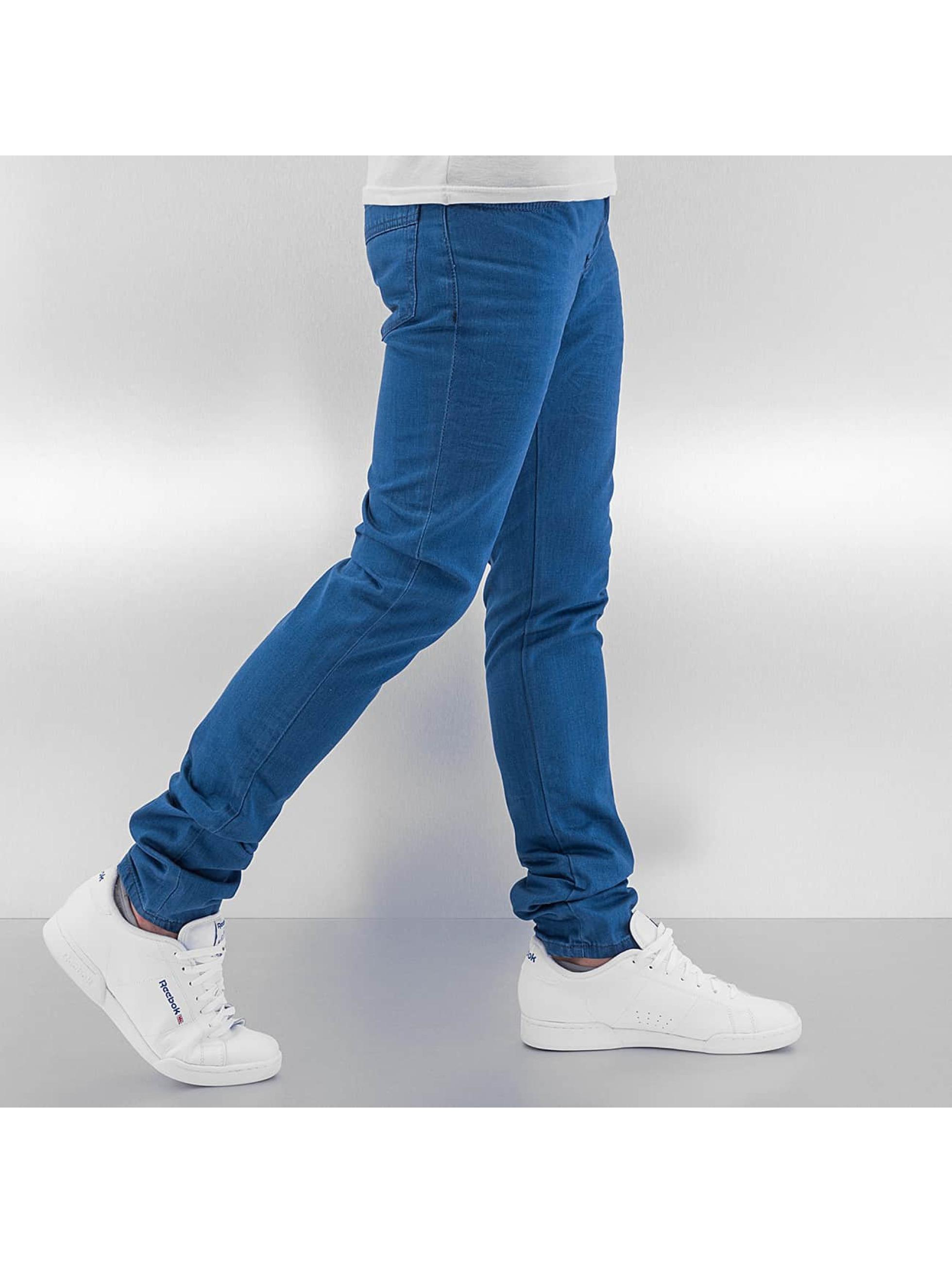 Cazzy Clang Облегающие джинсы Dye синий