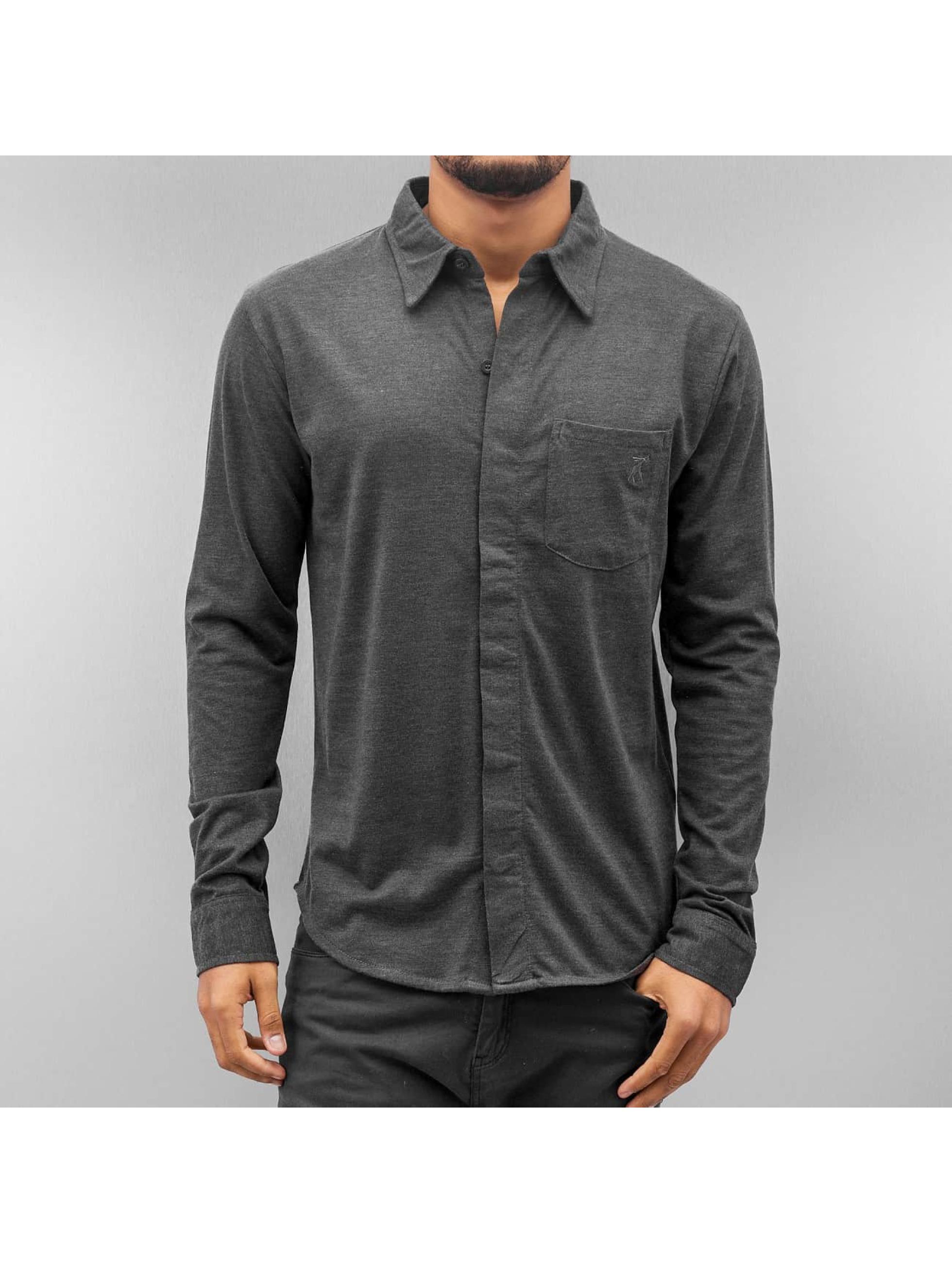 Cazzy Clang Camicia Basic grigio
