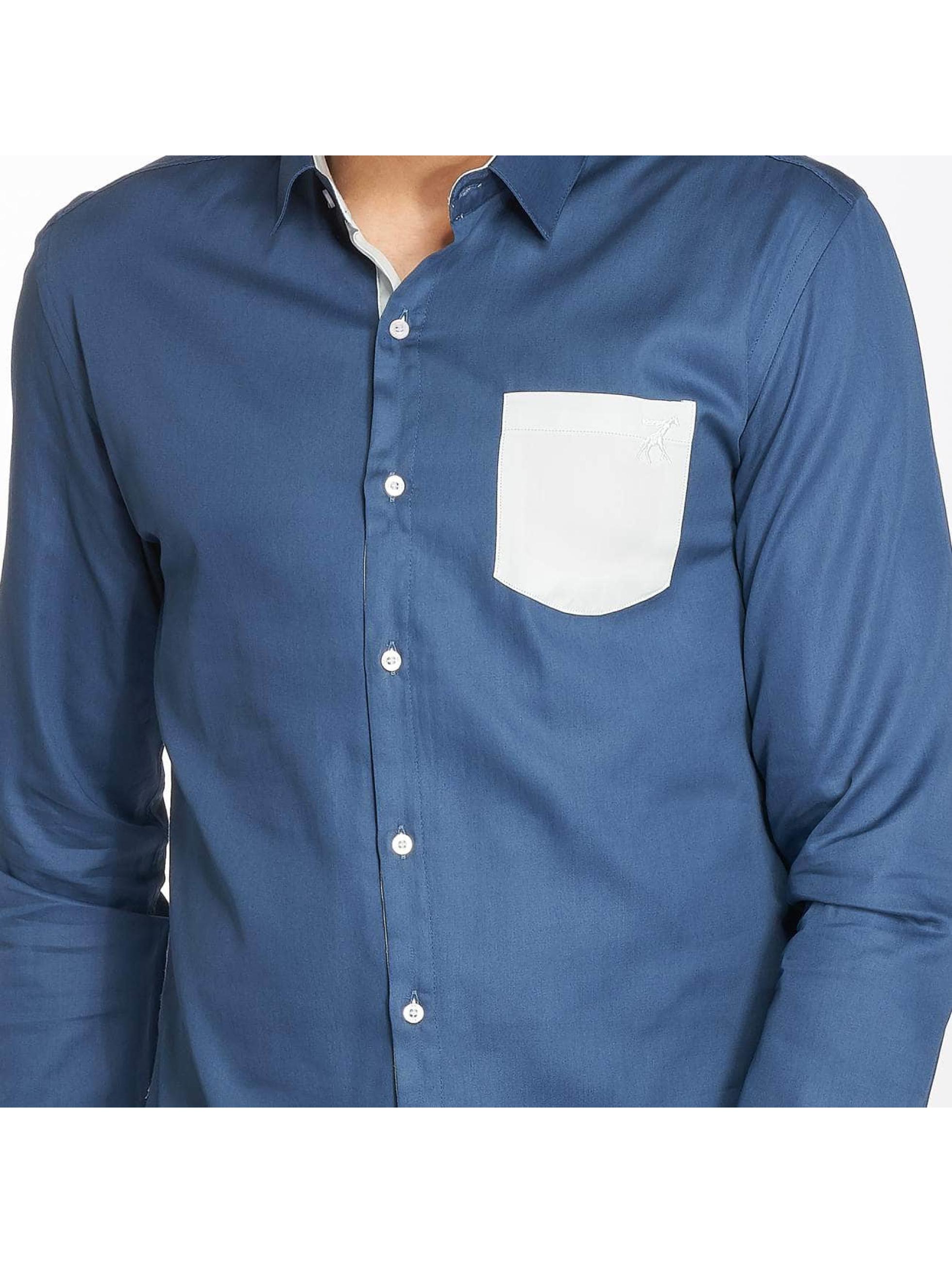 Cazzy Clang Hemd Quinn blau