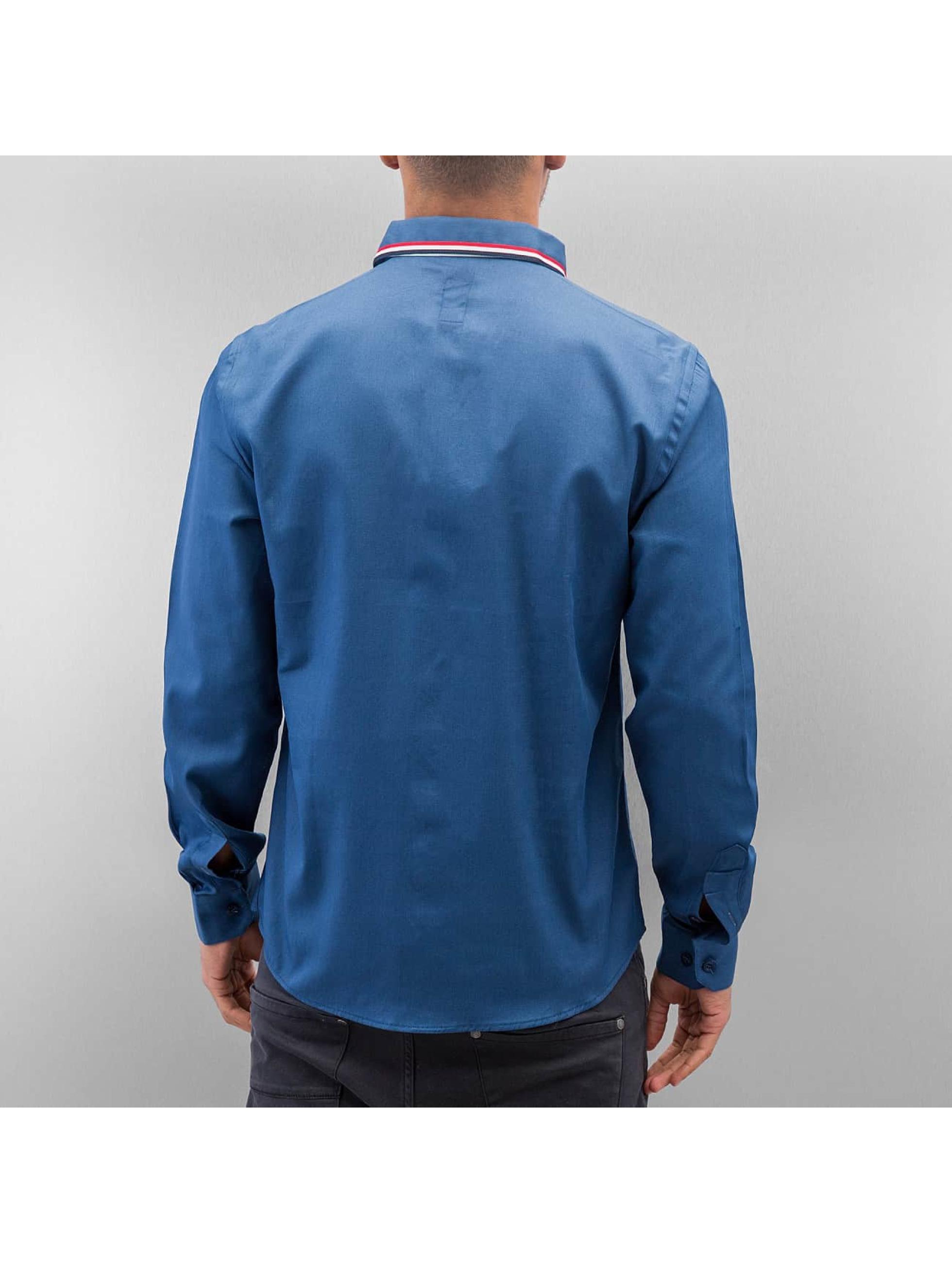 Cazzy Clang overhemd Renjo blauw