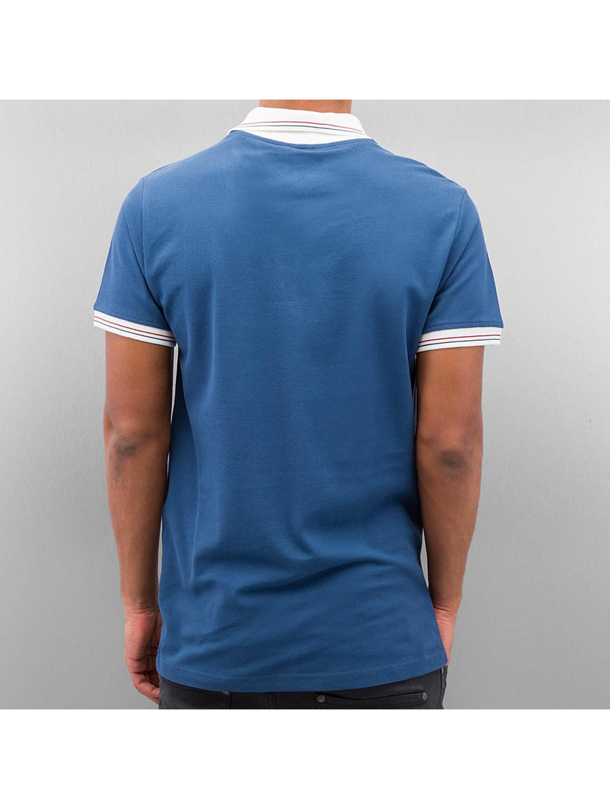 Cazzy Clang poloshirt Damp blauw