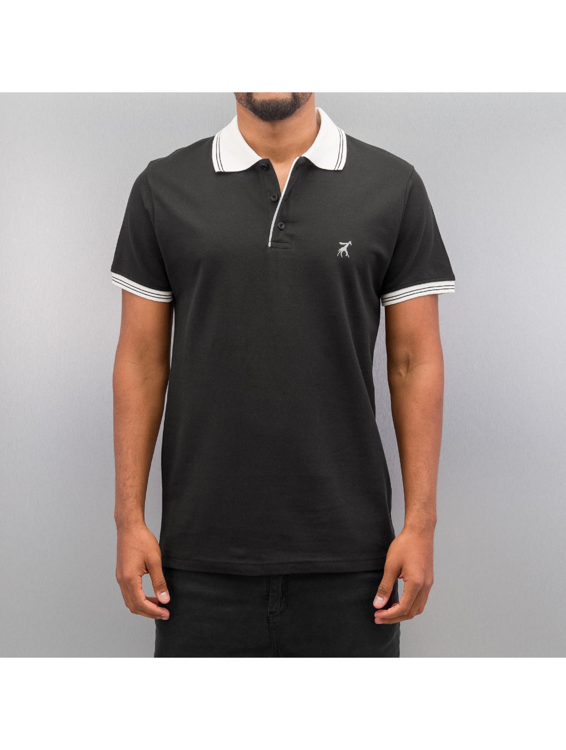 Cazzy Clang Poloshirt Damp schwarz