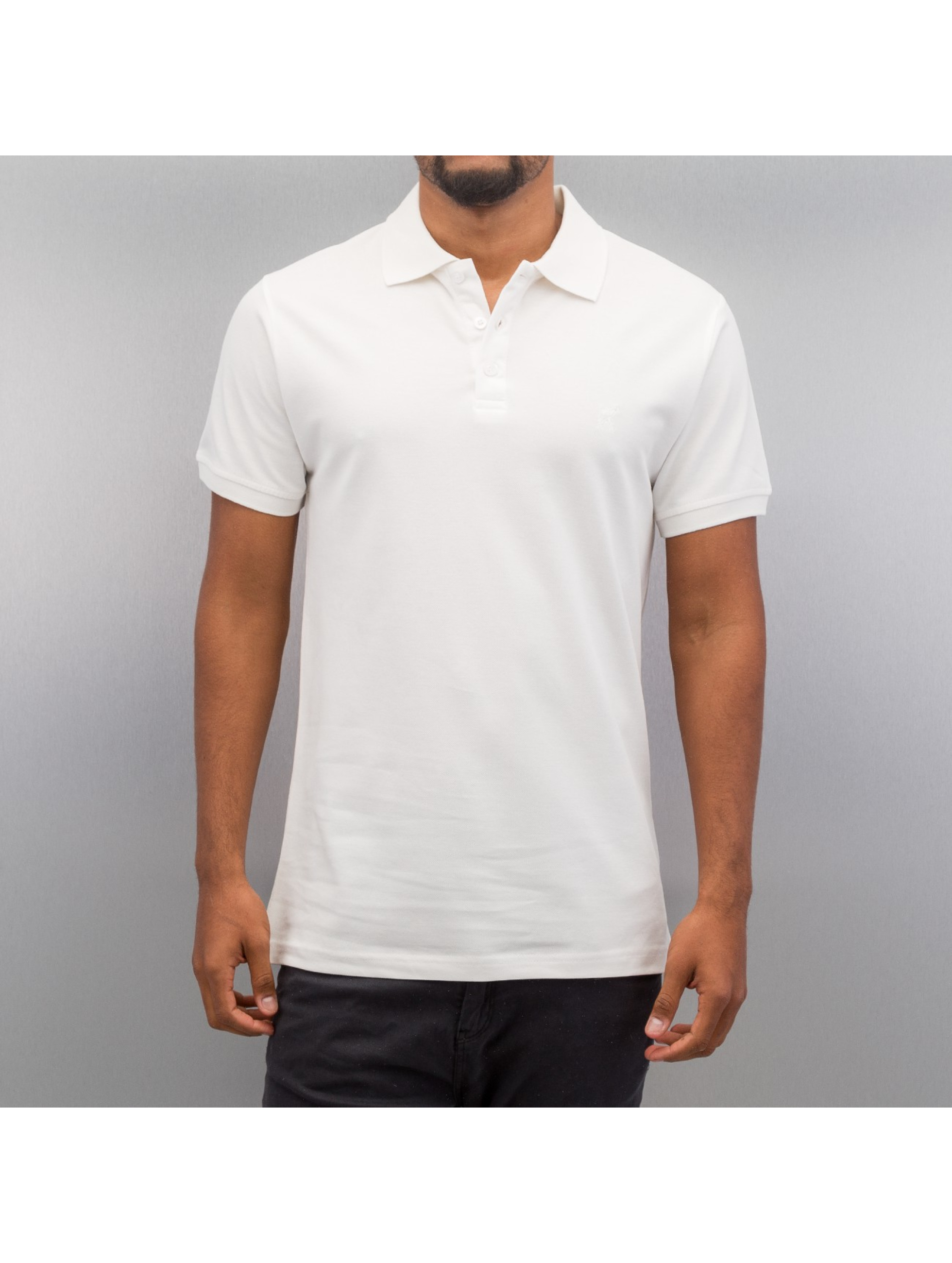Cazzy Clang poloshirt Classic wit