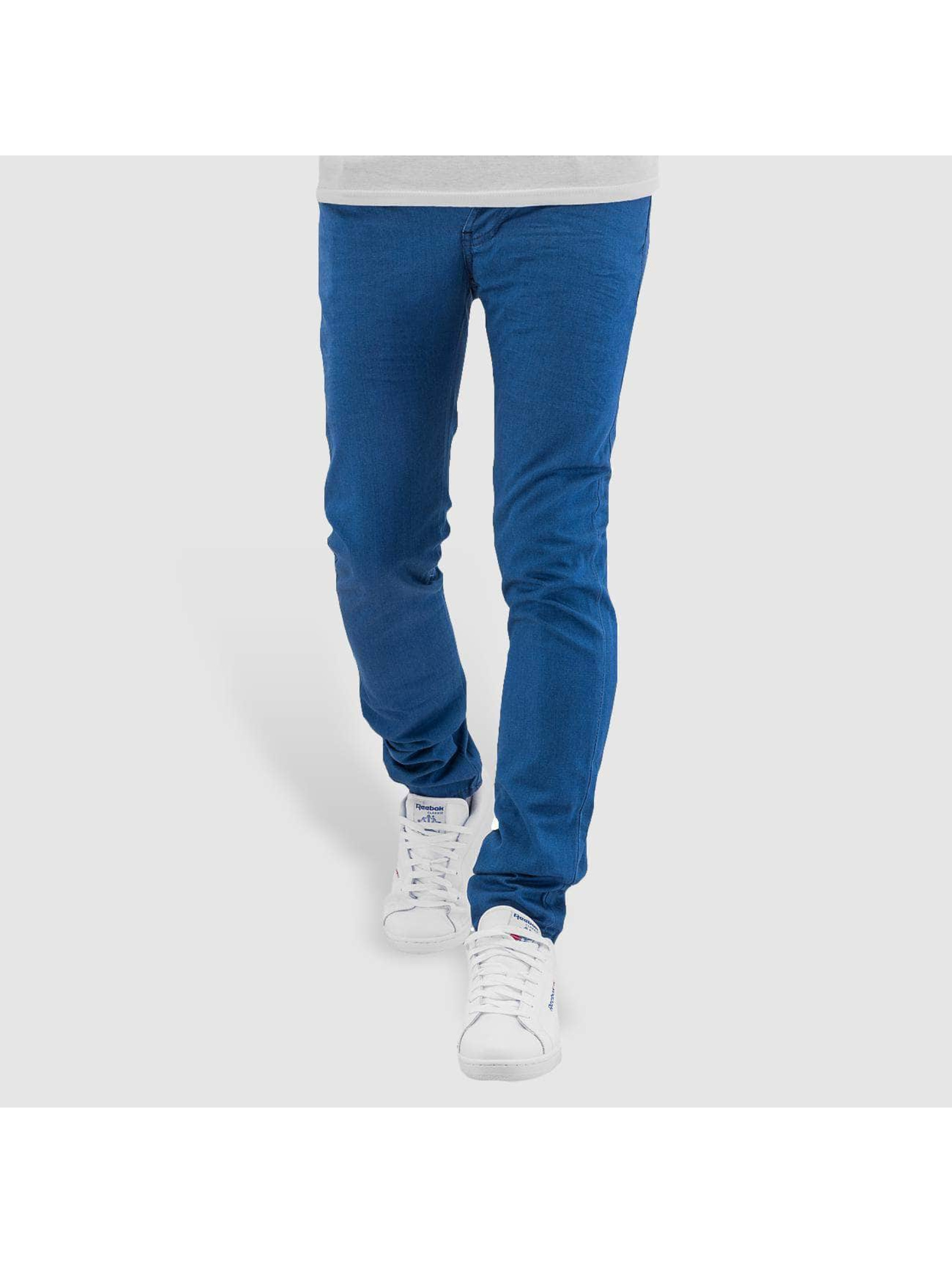 Cazzy Clang Skinny jeans Dye blauw