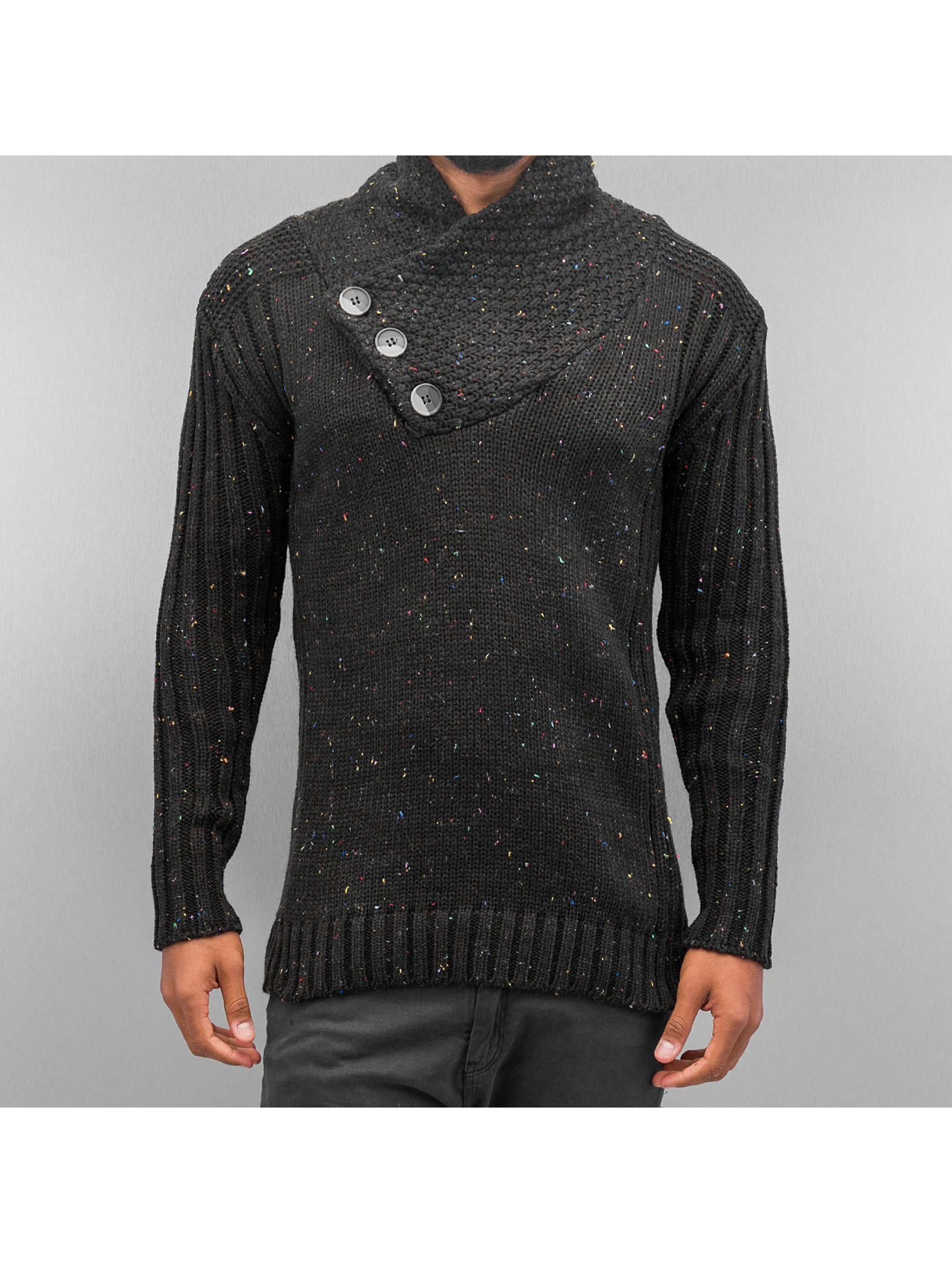 Cazzy Clang Sweat & Pull Three Buttons noir