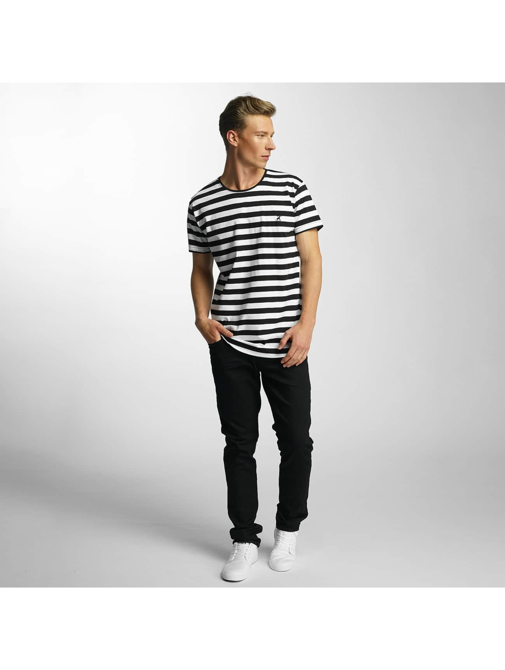 Cazzy Clang T-Shirt Stripes *B-Ware* black