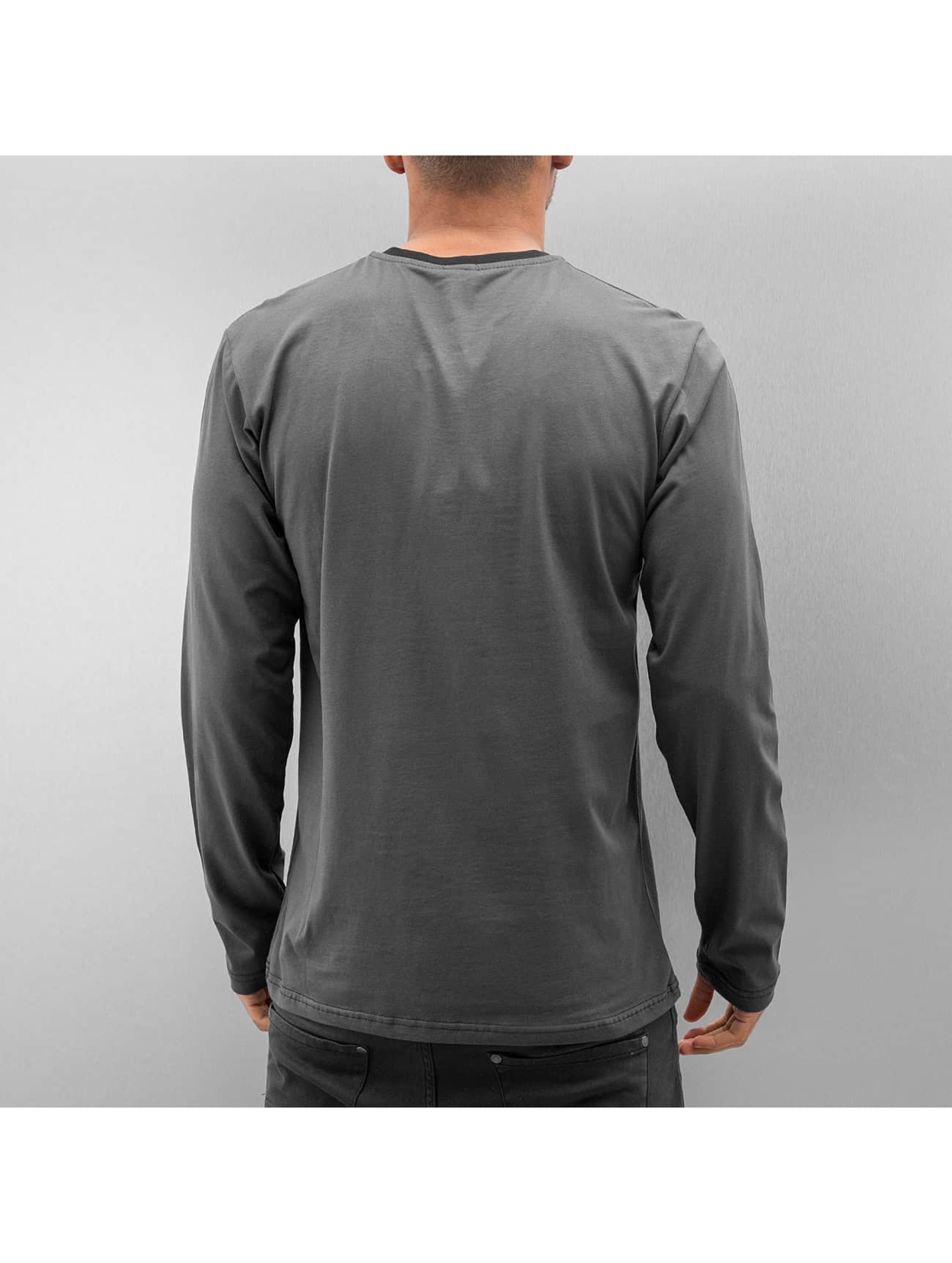 Cazzy Clang T-Shirt manches longues Hosea gris