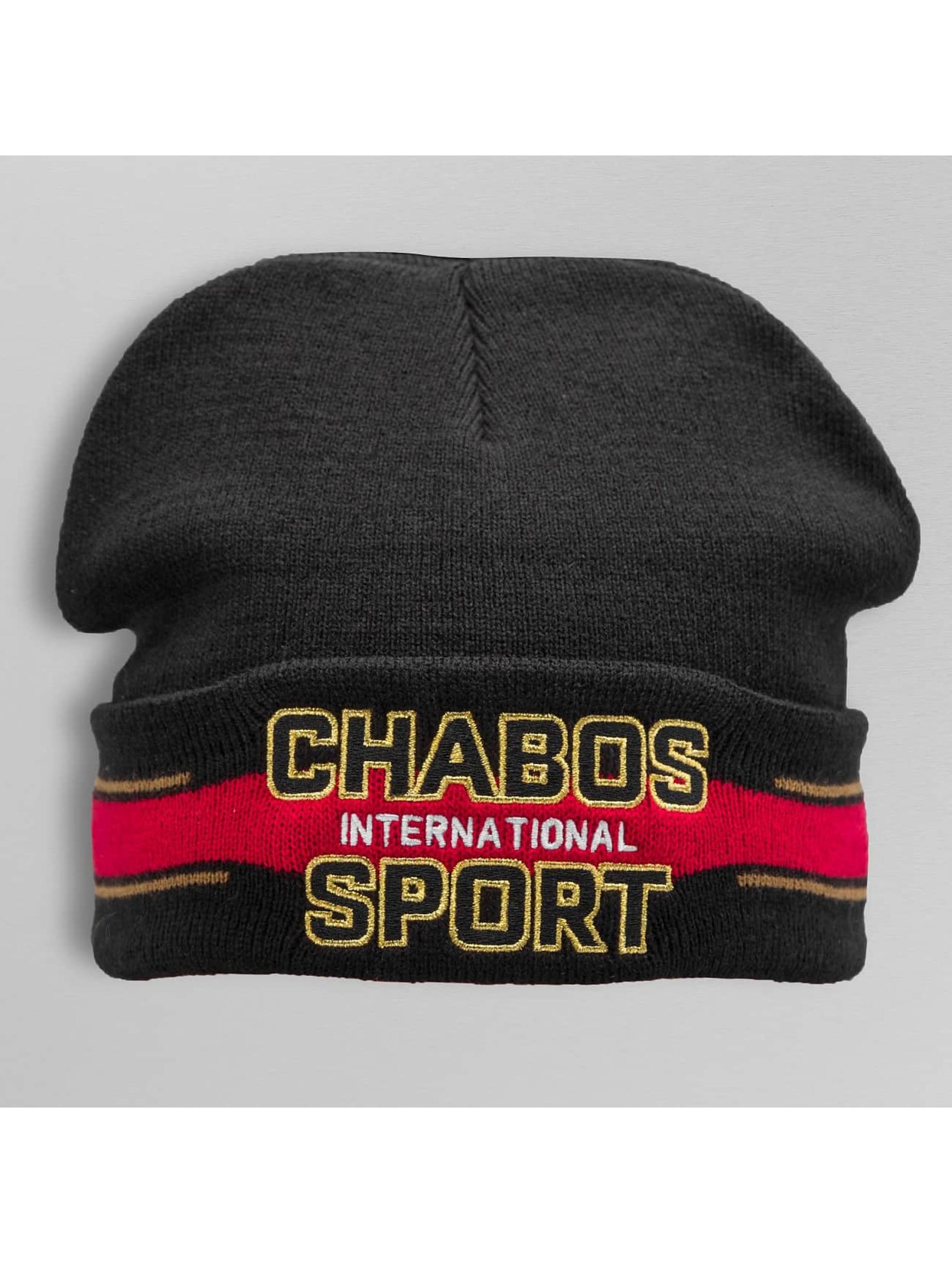 CHABOS IIVII Beanie International schwarz