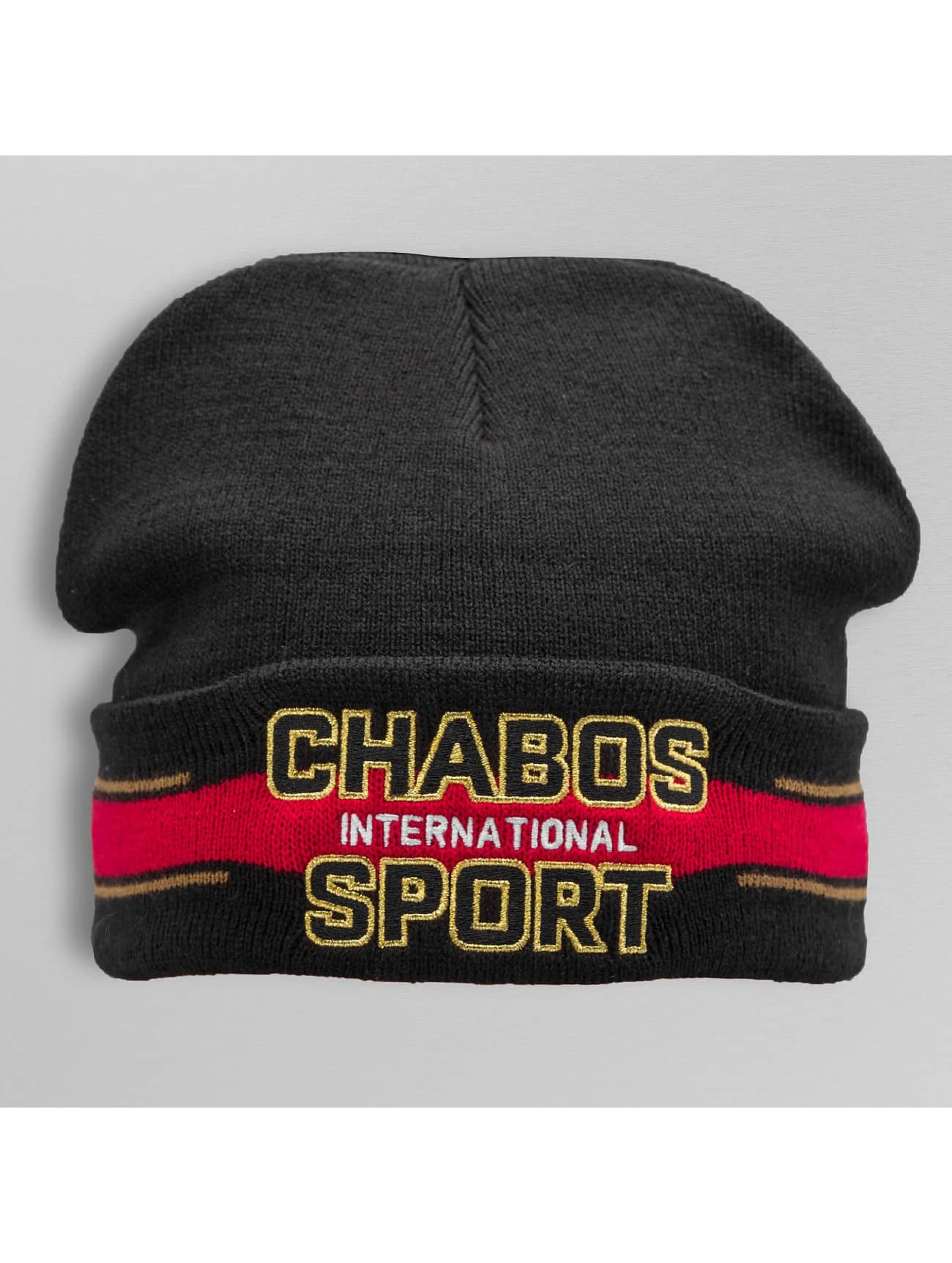 CHABOS IIVII Beanie International zwart
