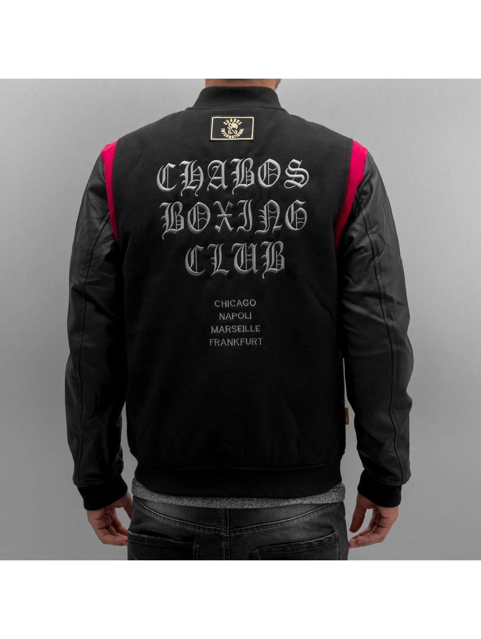 CHABOS IIVII Chaqueta de béisbol CBC negro