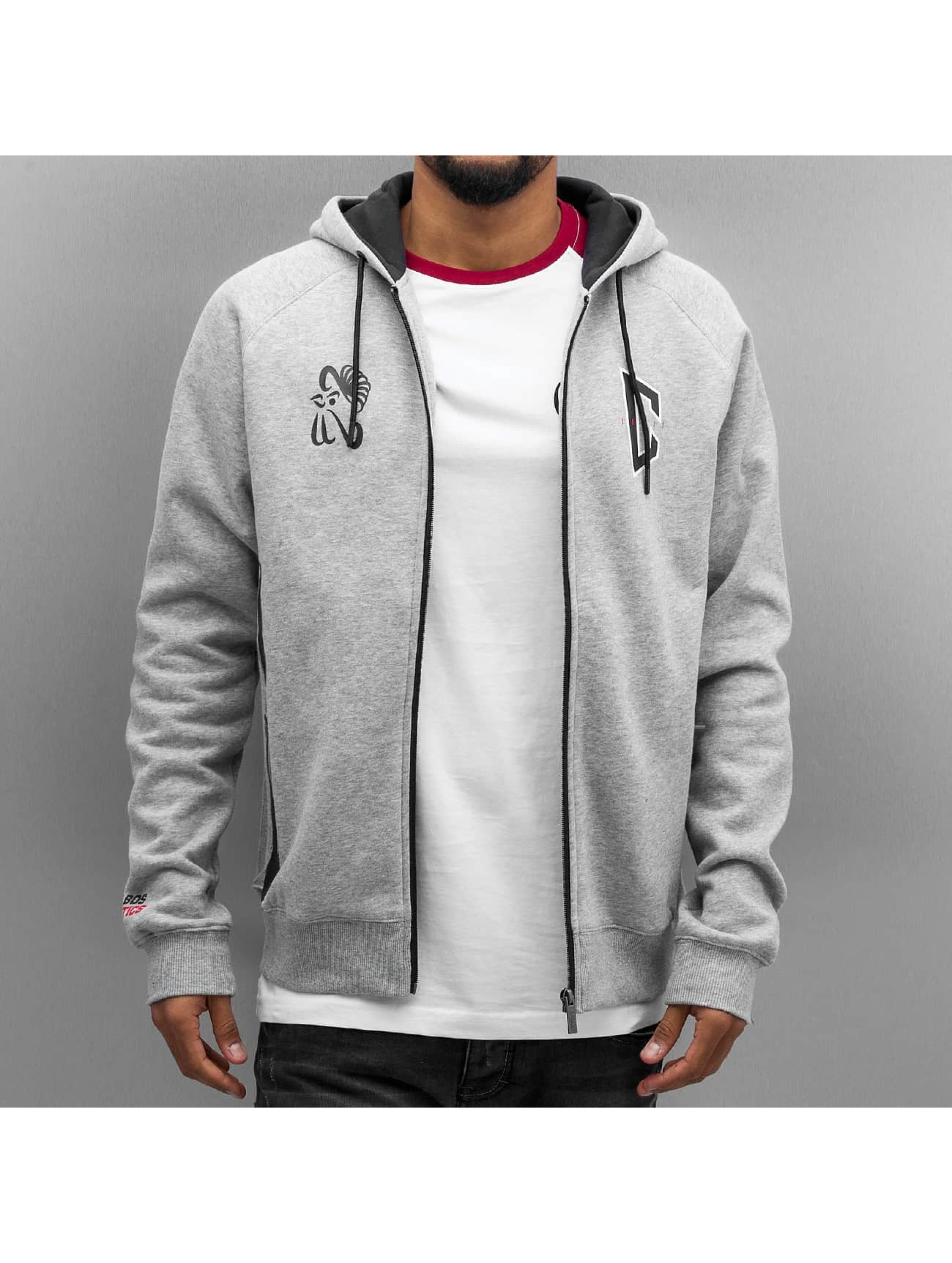 CHABOS IIVII Hoodies con zip Zipper grigio