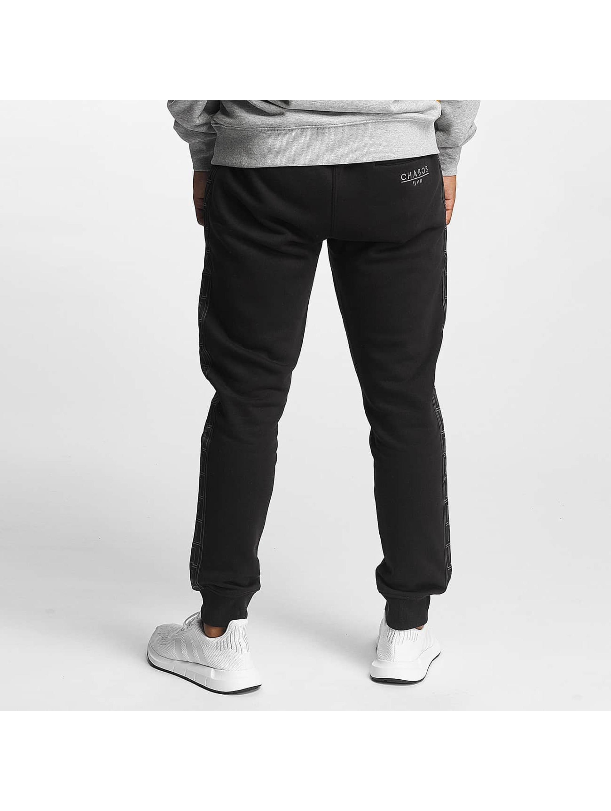 CHABOS IIVII Jogging Palazzo Taped noir