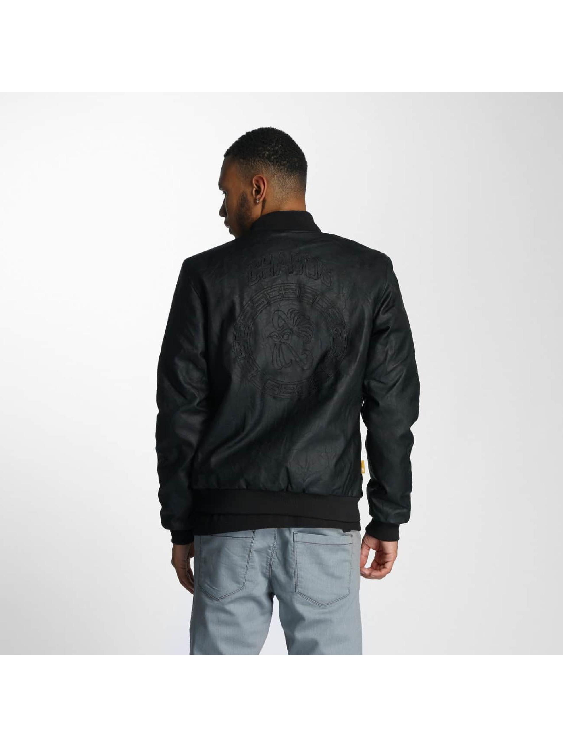 CHABOS IIVII Leather Jacket Blok PU black