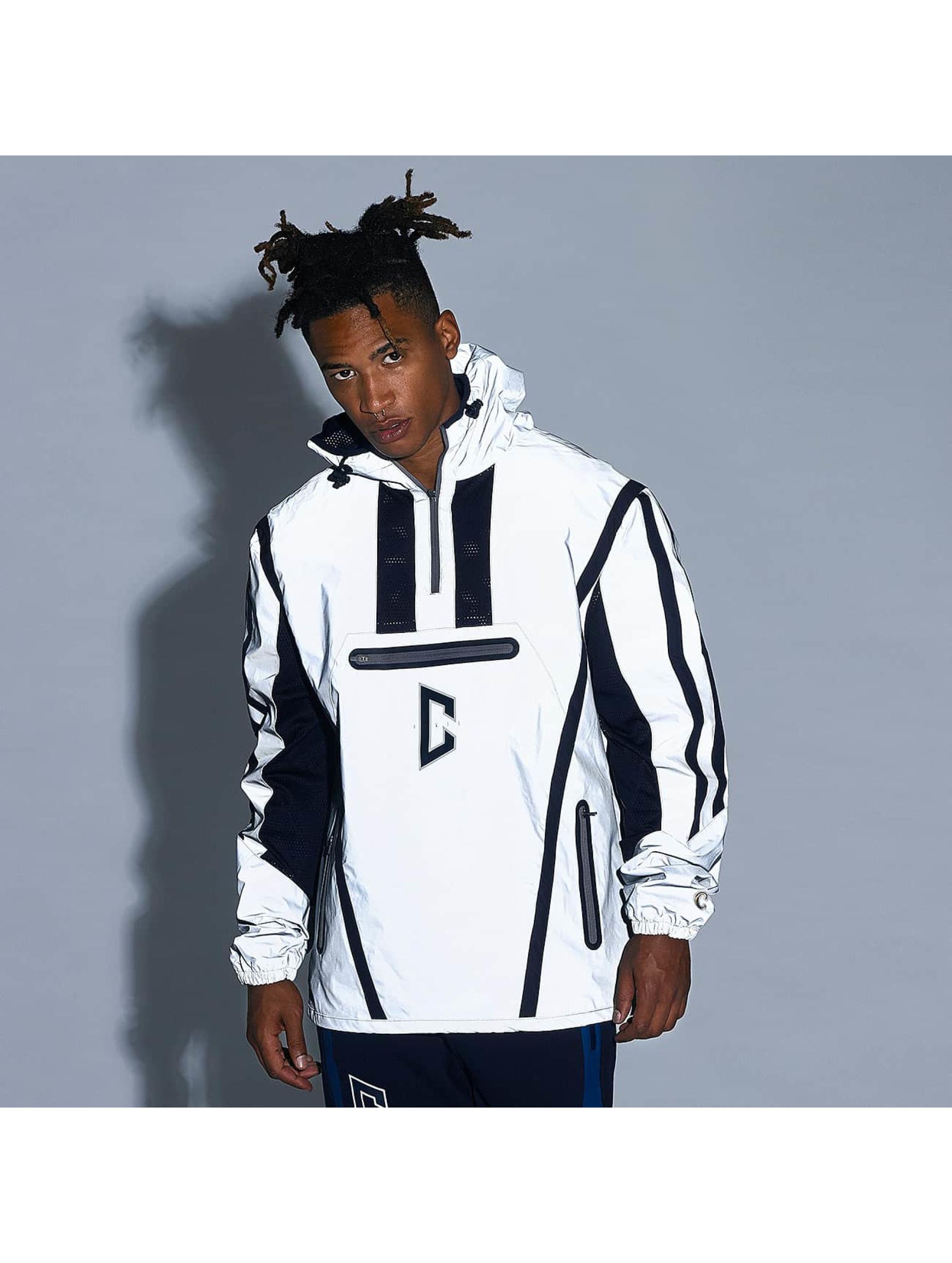 CHABOS IIVII Lightweight Jacket Half Zip Hooded gray