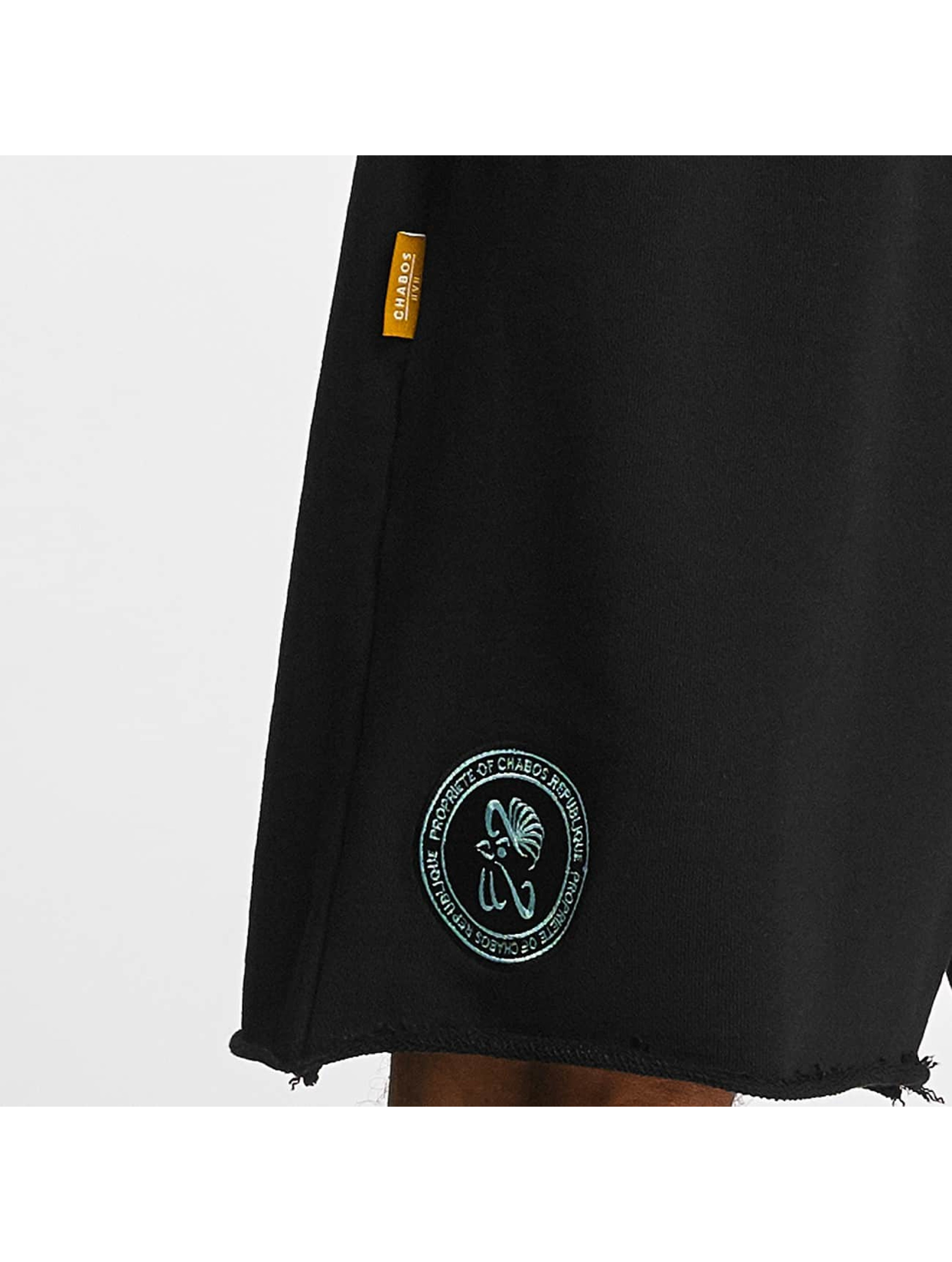 CHABOS IIVII Pantalón cortos Cut Off negro