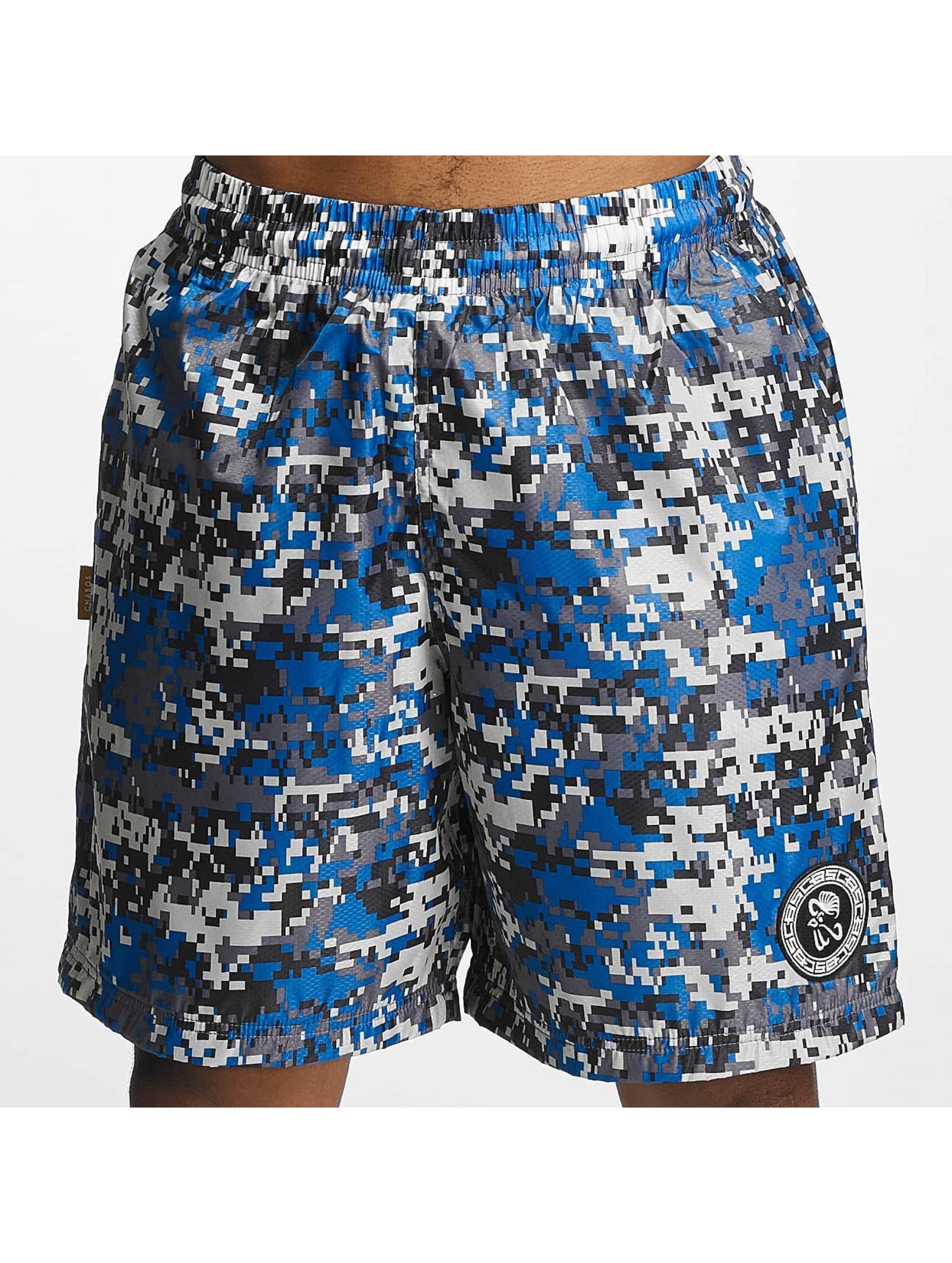 CHABOS IIVII Shorts Camo blu
