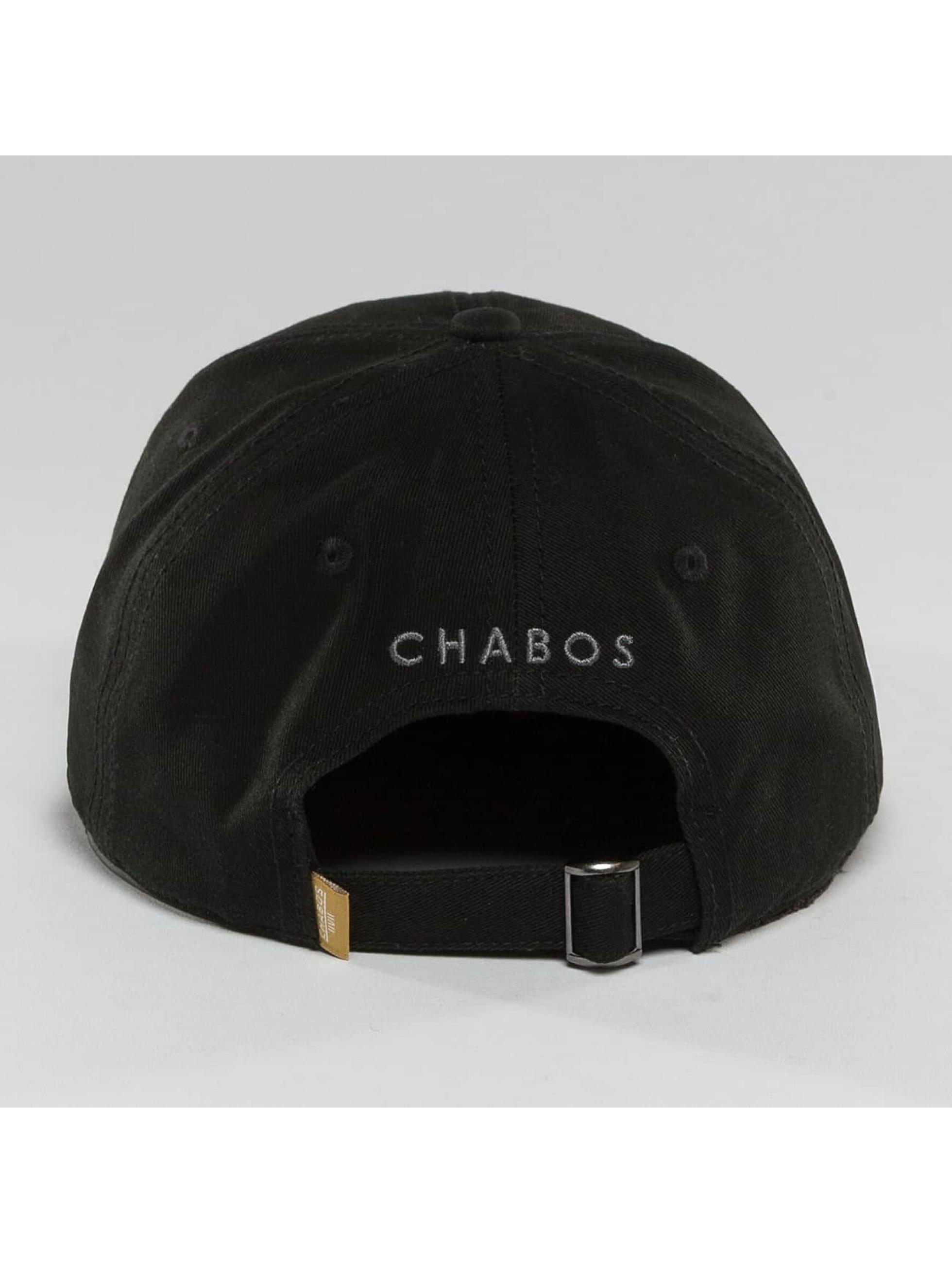 CHABOS IIVII Snapback Cap Palazzo black