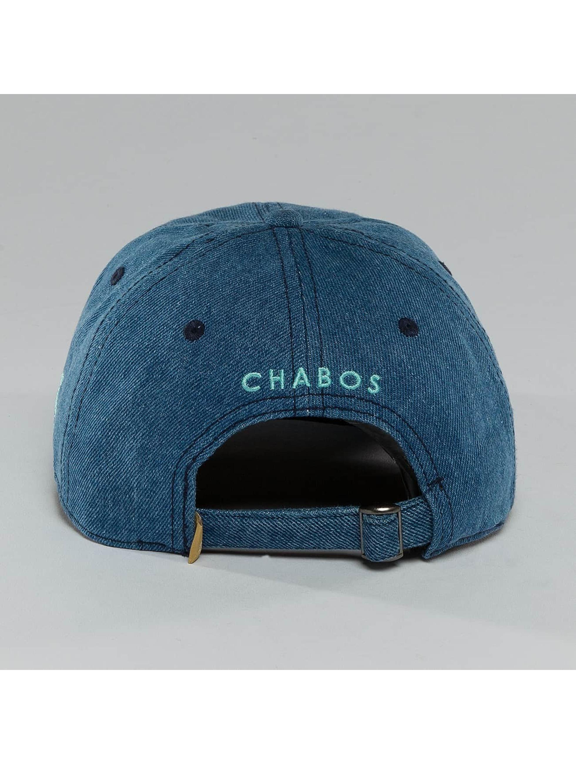 CHABOS IIVII Snapback Cap Pyramid blue
