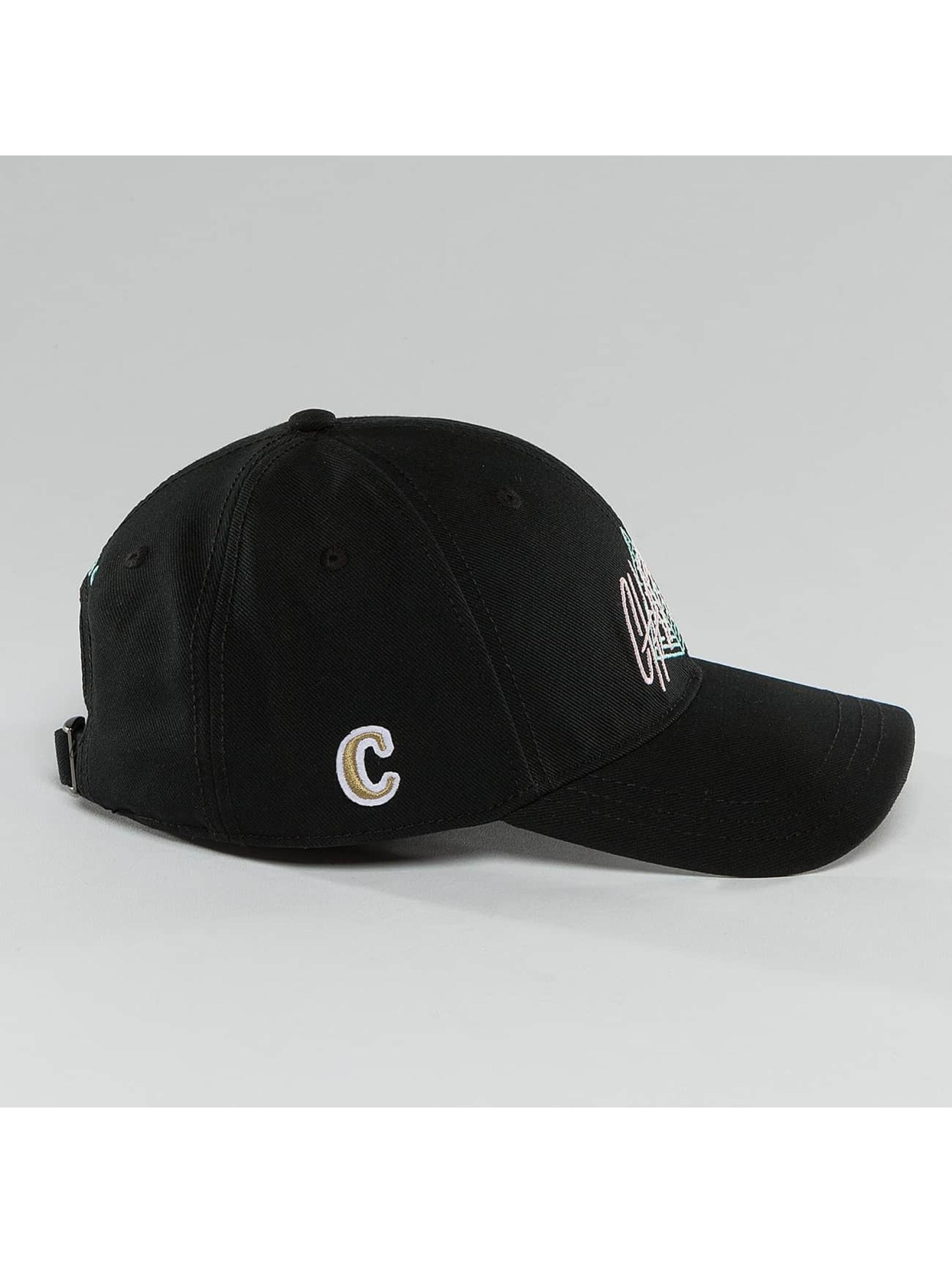 CHABOS IIVII snapback cap Pyramid zwart