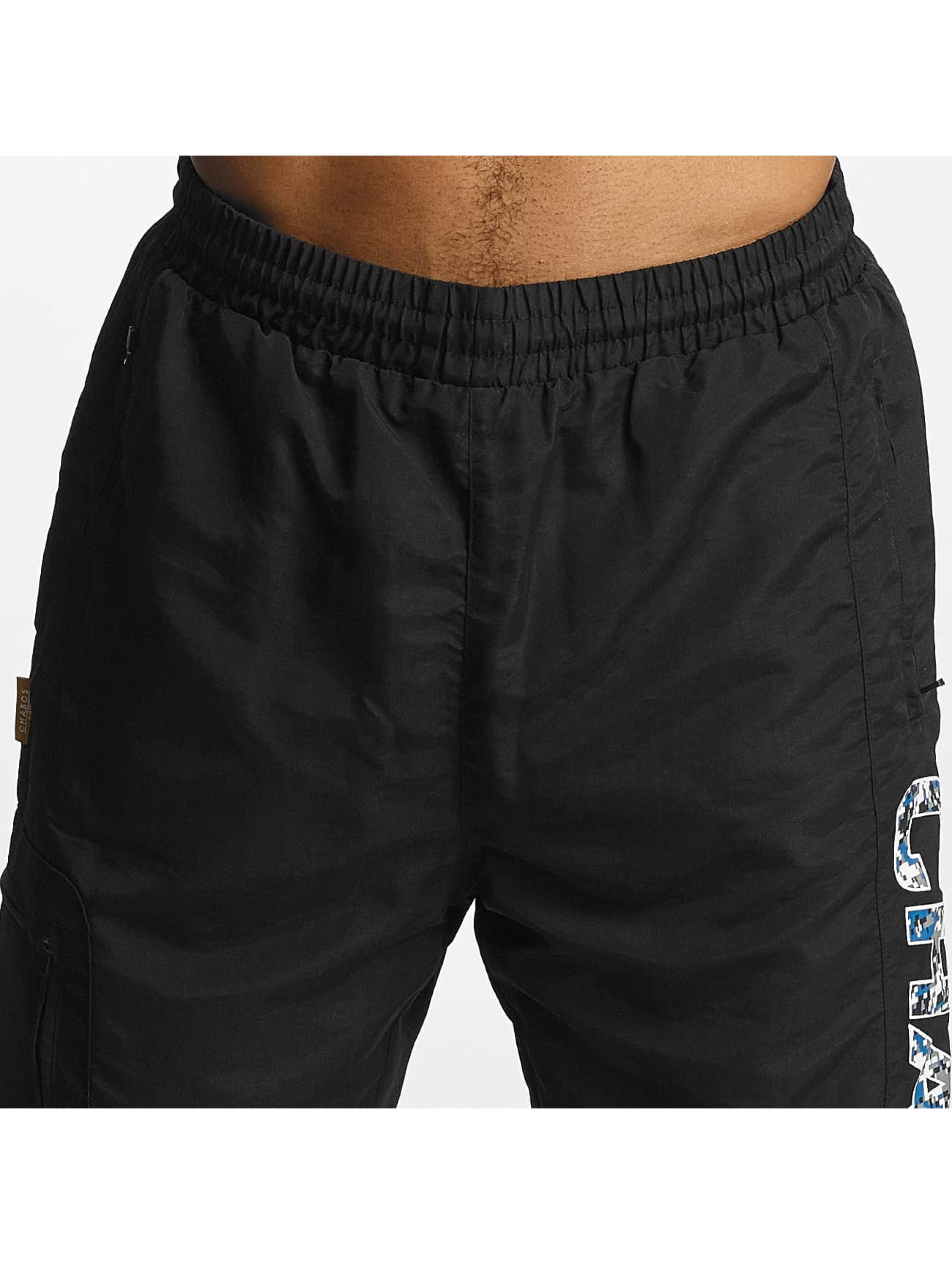 CHABOS IIVII Spodnie do joggingu Pafpaf czarny