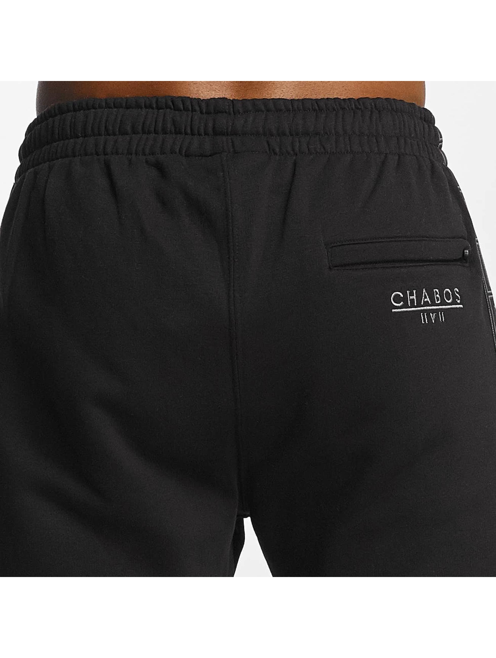 CHABOS IIVII Spodnie do joggingu Palazzo Taped czarny
