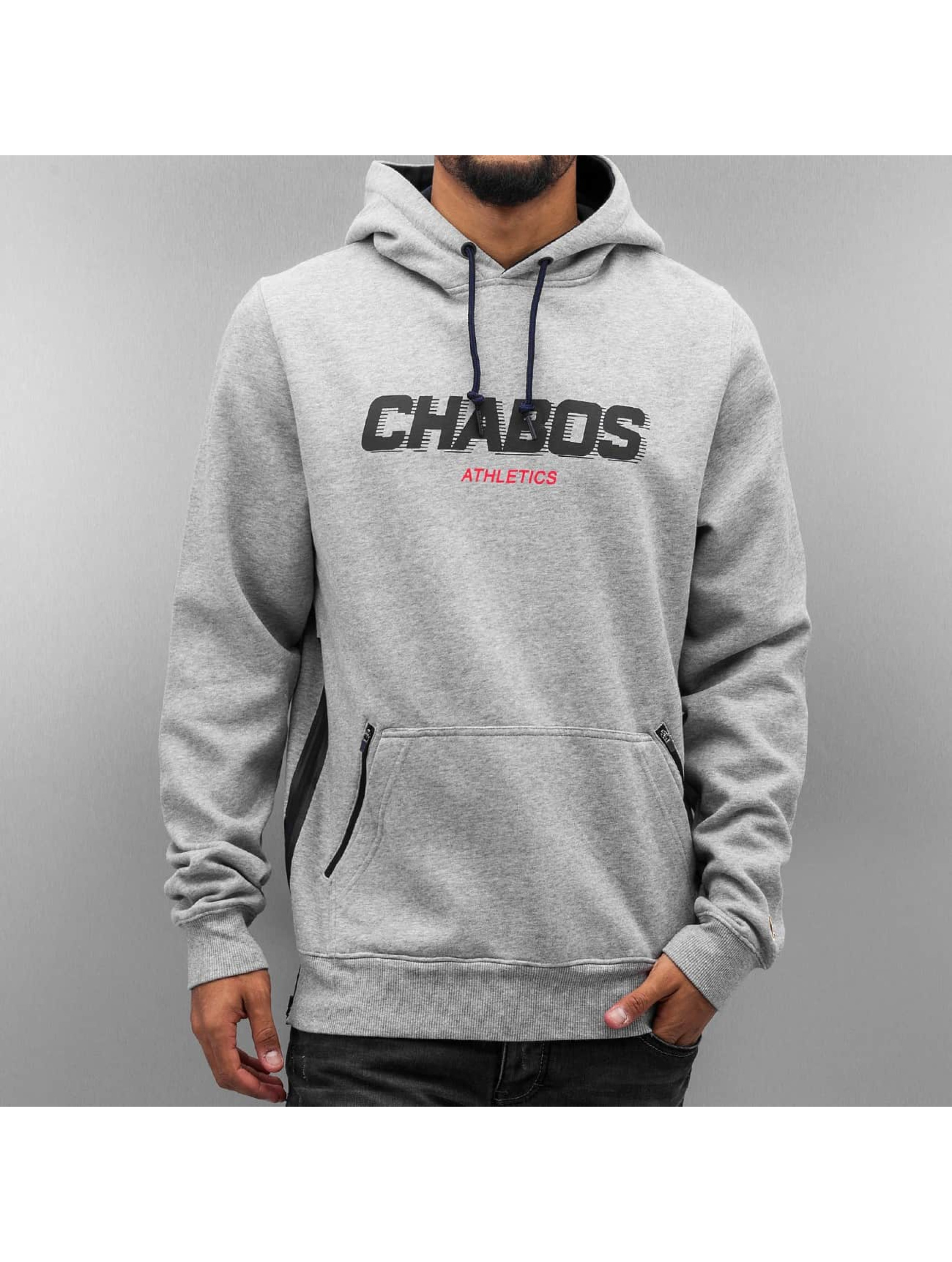 CHABOS IIVII Sweat capuche Velocity gris