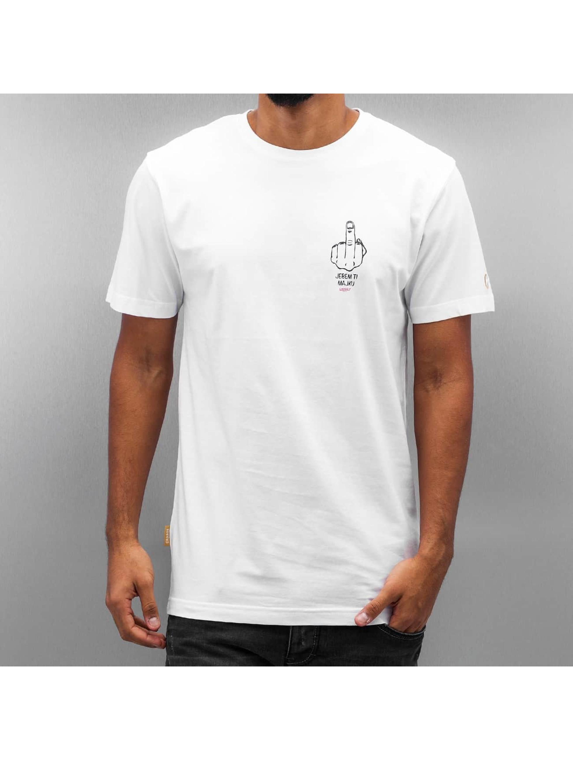 CHABOS IIVII T-shirt Je Bem bianco